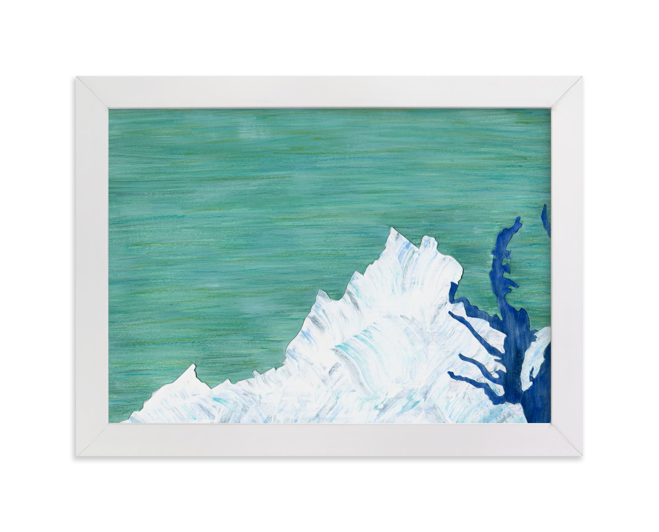 """""""Virginia in Paint"""" - Limited Edition Art Print by Denise Wong in beautiful frame options and a variety of sizes."""