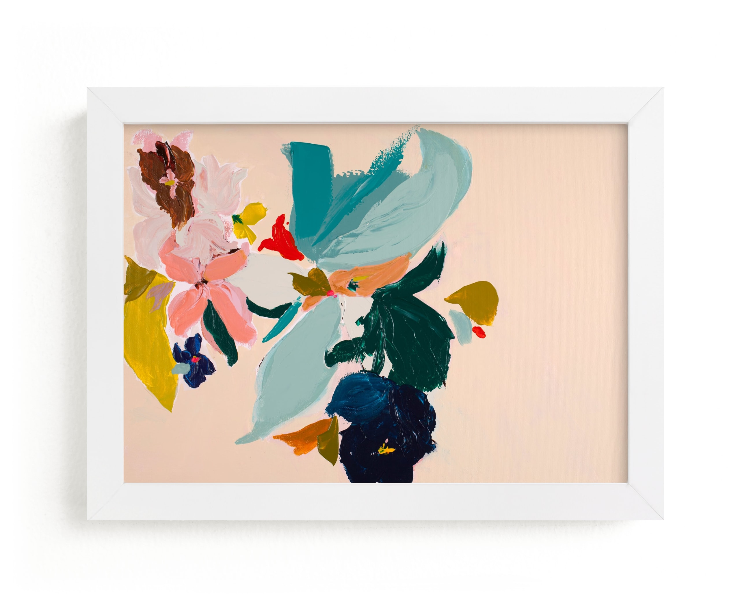 """""""Spring Botanical Series #3"""" - Limited Edition Art Print by Caryn Owen in beautiful frame options and a variety of sizes."""