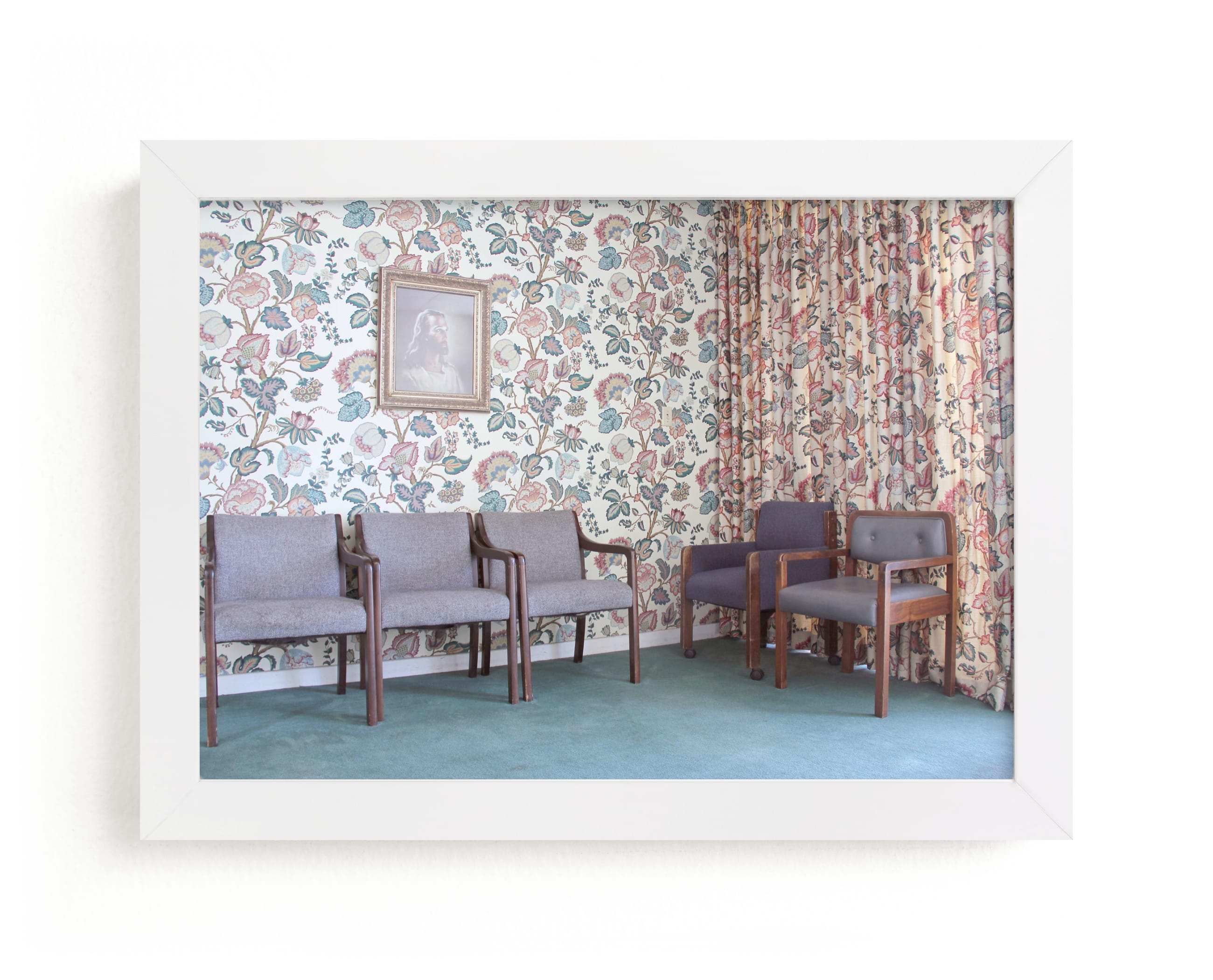 """""""Waiting Room"""" - Limited Edition Art Print by Julie Grace Immink in beautiful frame options and a variety of sizes."""