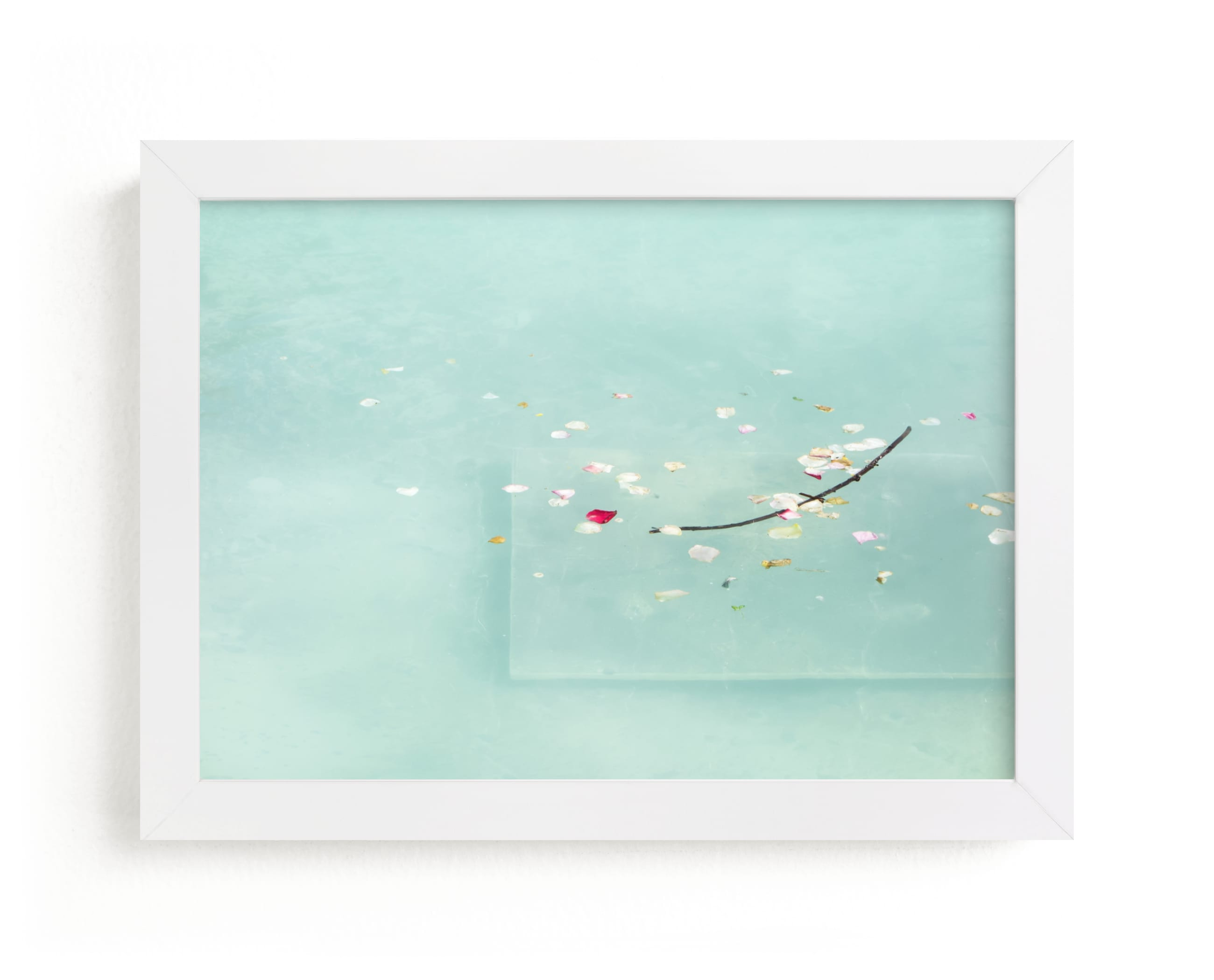 """""""Floating Treasures"""" - Limited Edition Art Print by Lisa Sundin in beautiful frame options and a variety of sizes."""