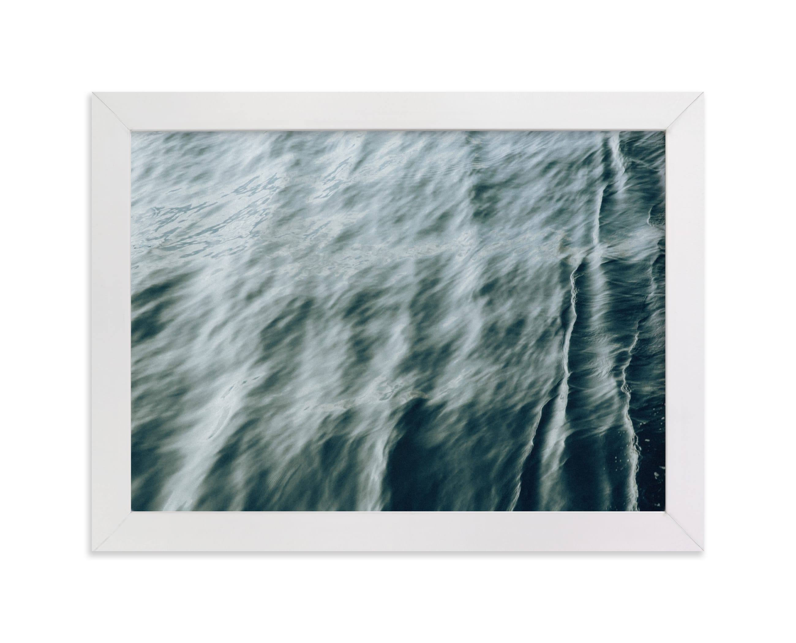 """Mint wave"" - Limited Edition Art Print by Lying on the grass in beautiful frame options and a variety of sizes."