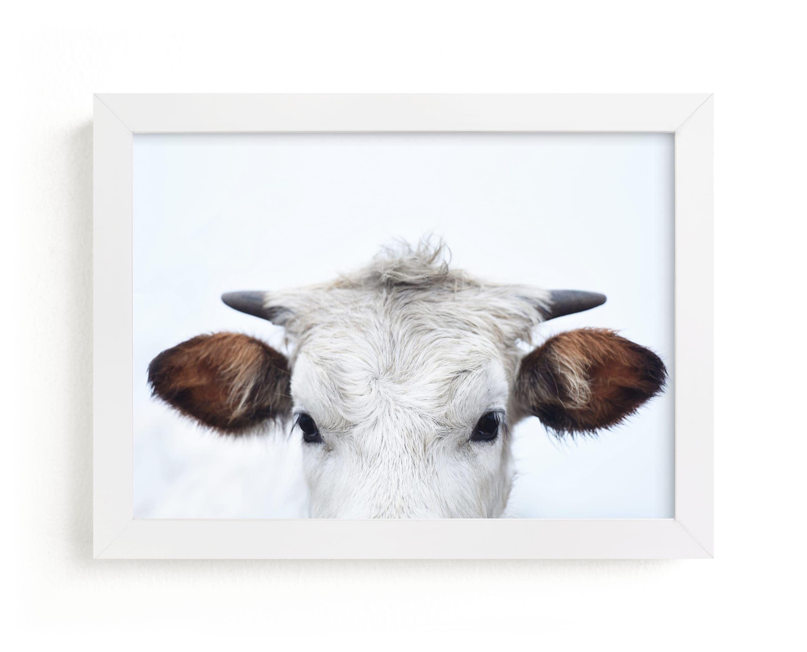 """""""Wee Staredown"""" - Limited Edition Art Print by Amy Carroll in beautiful frame options and a variety of sizes."""