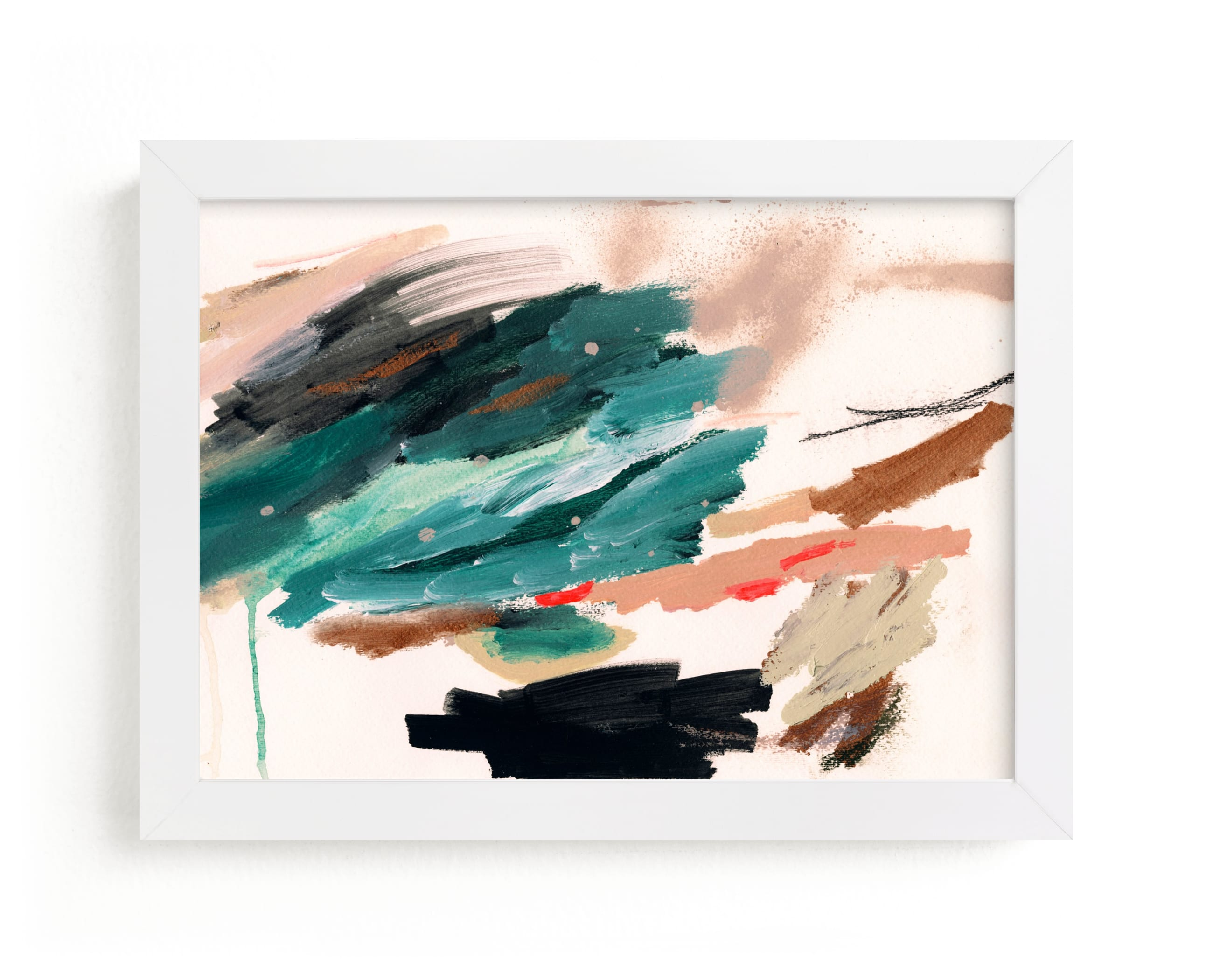 """""""Don't Rush Me"""" - Limited Edition Art Print by Lauren Packard in beautiful frame options and a variety of sizes."""