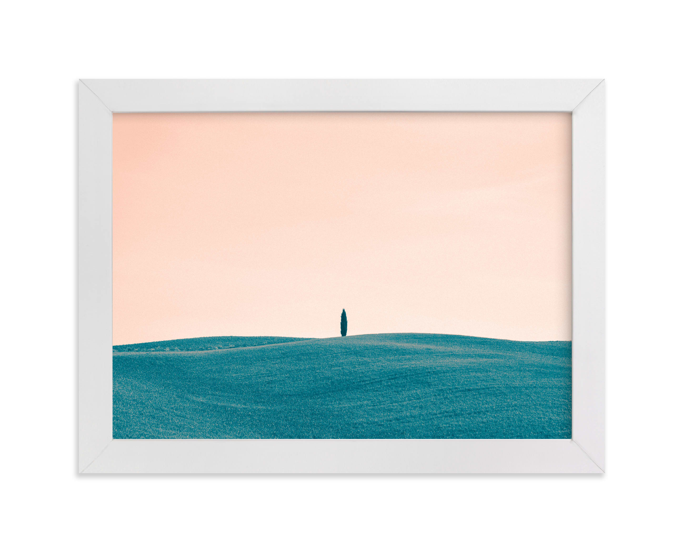"""""""Tuscan Hills 01"""" - Limited Edition Art Print by Kelsey Mucci in beautiful frame options and a variety of sizes."""