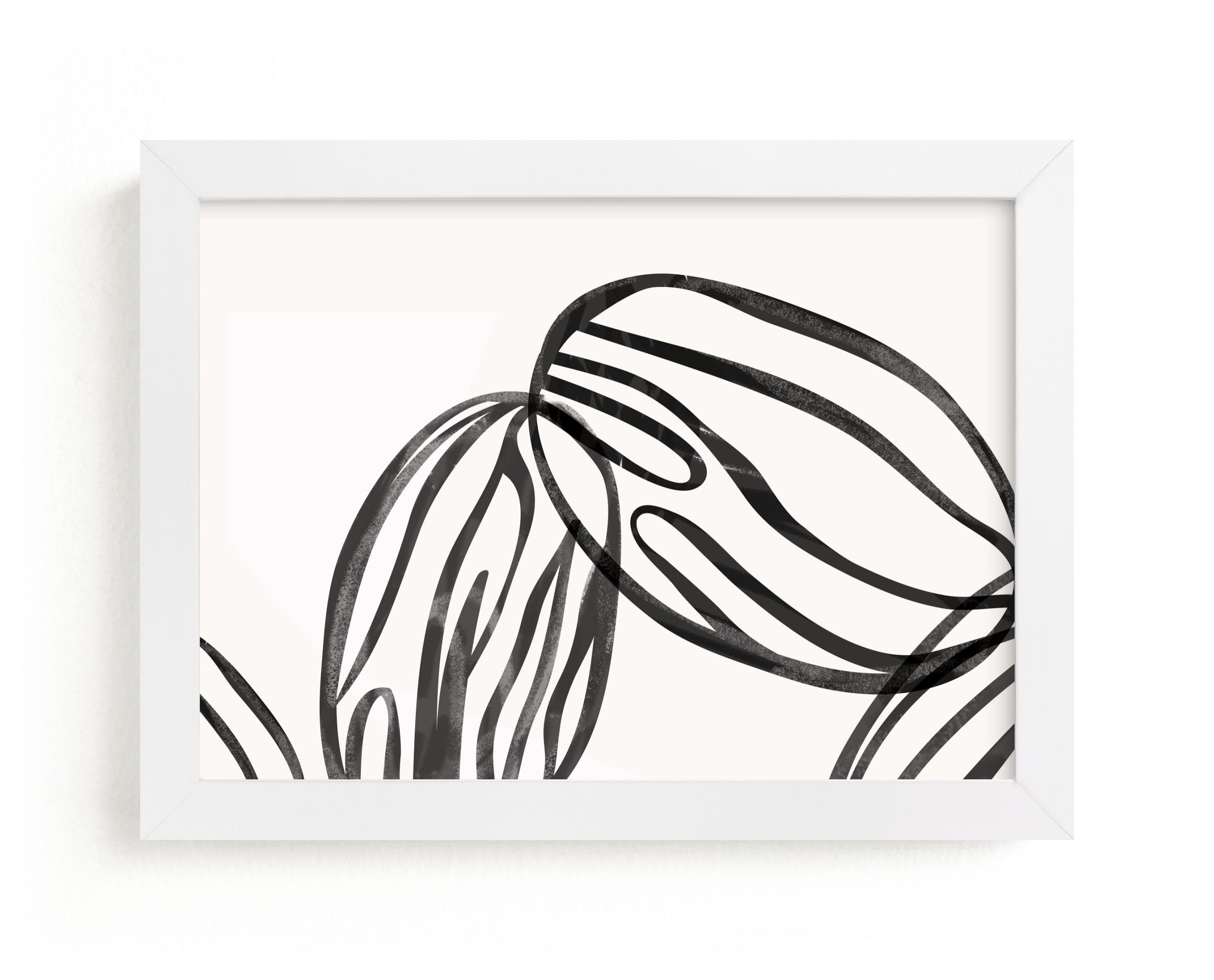 """""""almond milk"""" - Limited Edition Art Print by Carolyn MacLaren in beautiful frame options and a variety of sizes."""