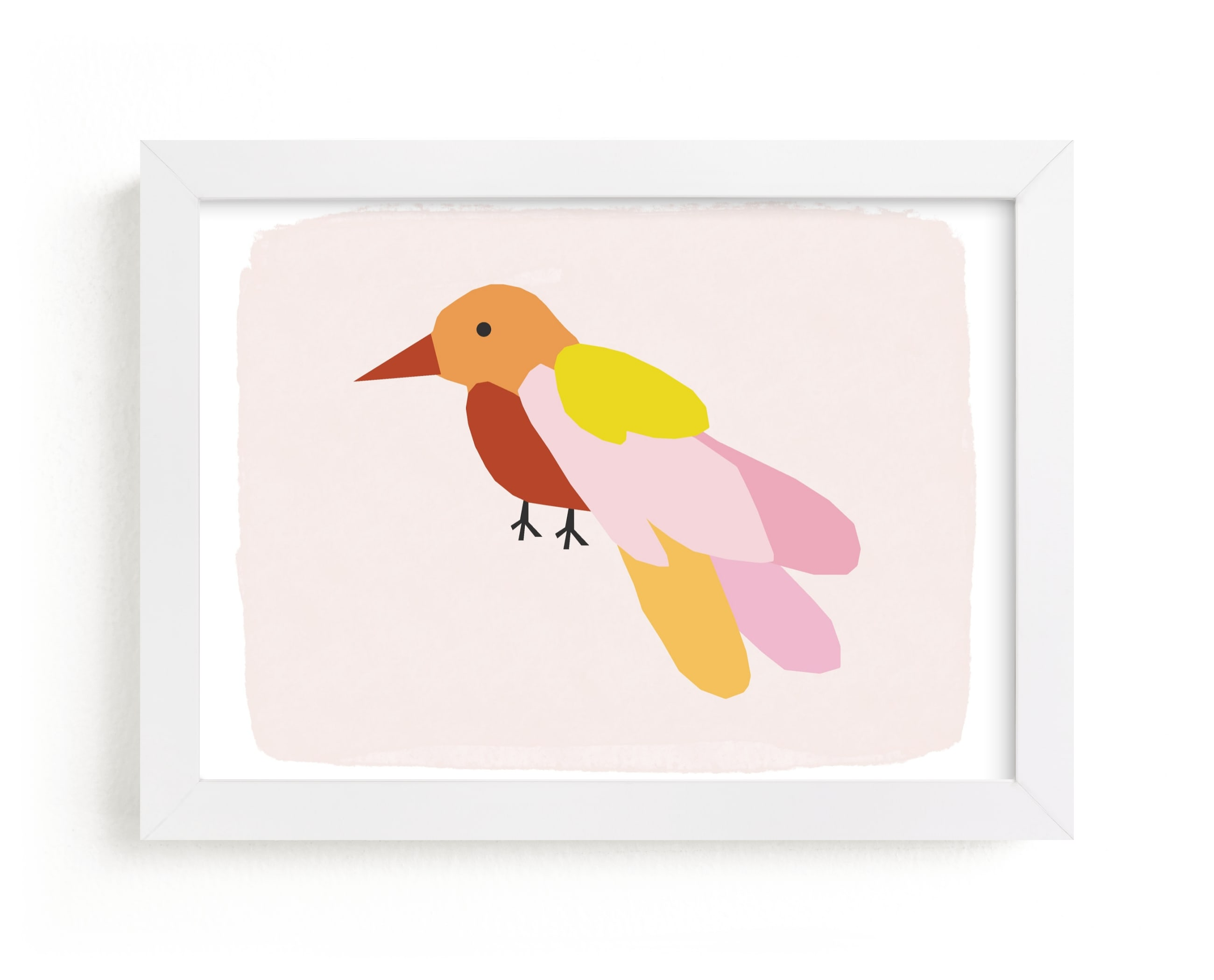 """""""Bird No. 2"""" - Limited Edition Art Print by Morgan Kendall in beautiful frame options and a variety of sizes."""