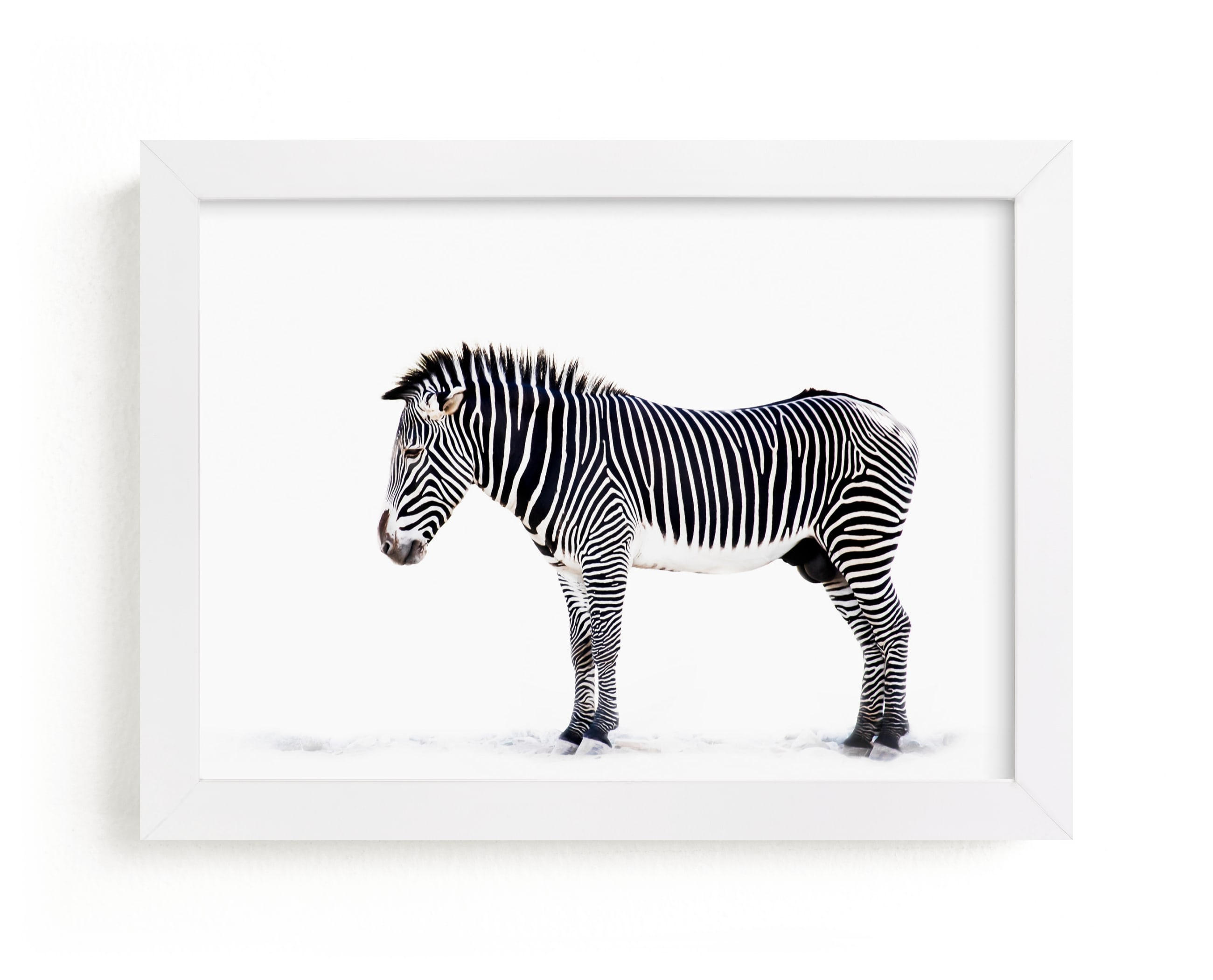 """""""Counting Stripes"""" - Limited Edition Art Print by Lisa Sundin in beautiful frame options and a variety of sizes."""