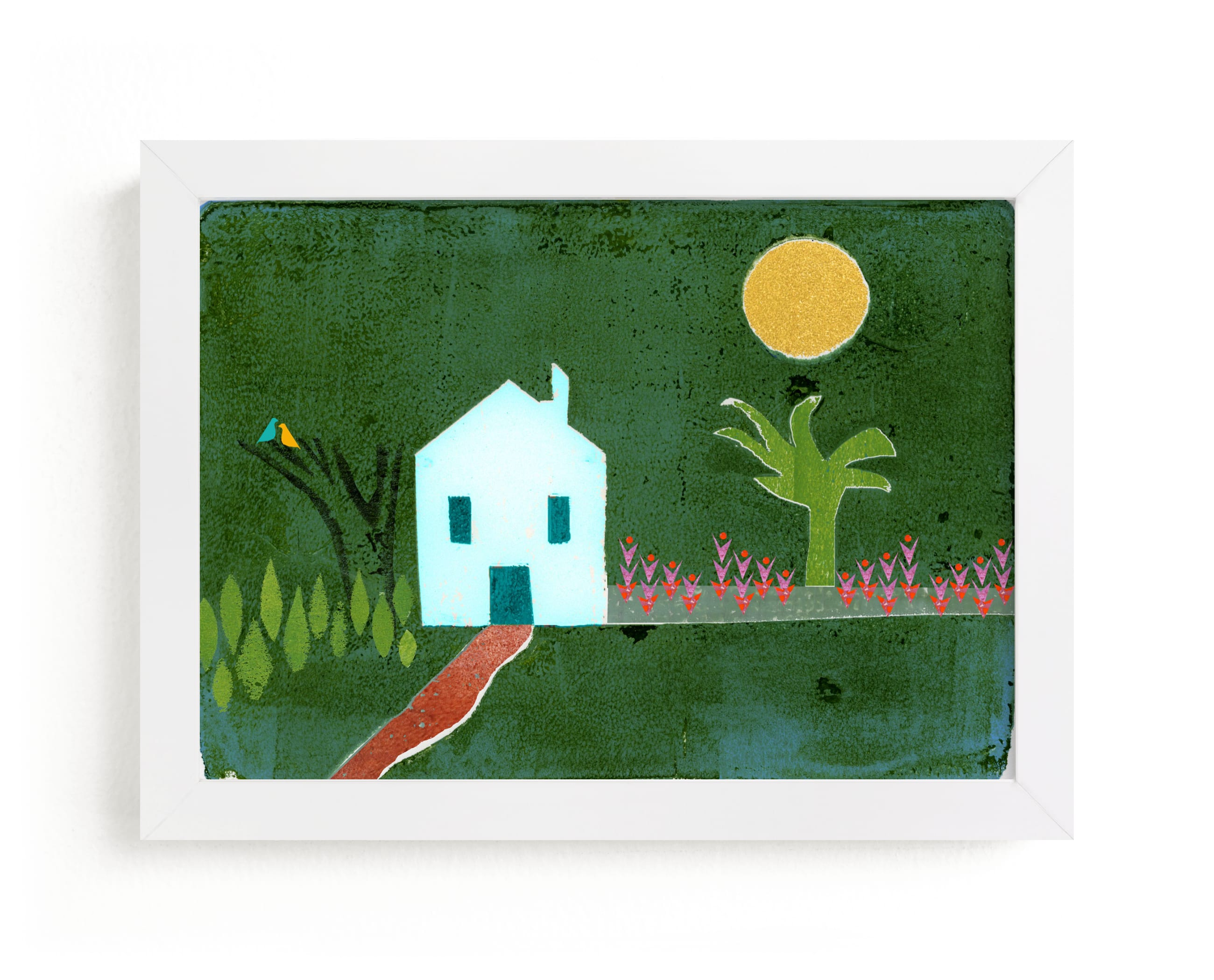 """""""Idyllic"""" - Limited Edition Art Print by Bethania Lima in beautiful frame options and a variety of sizes."""