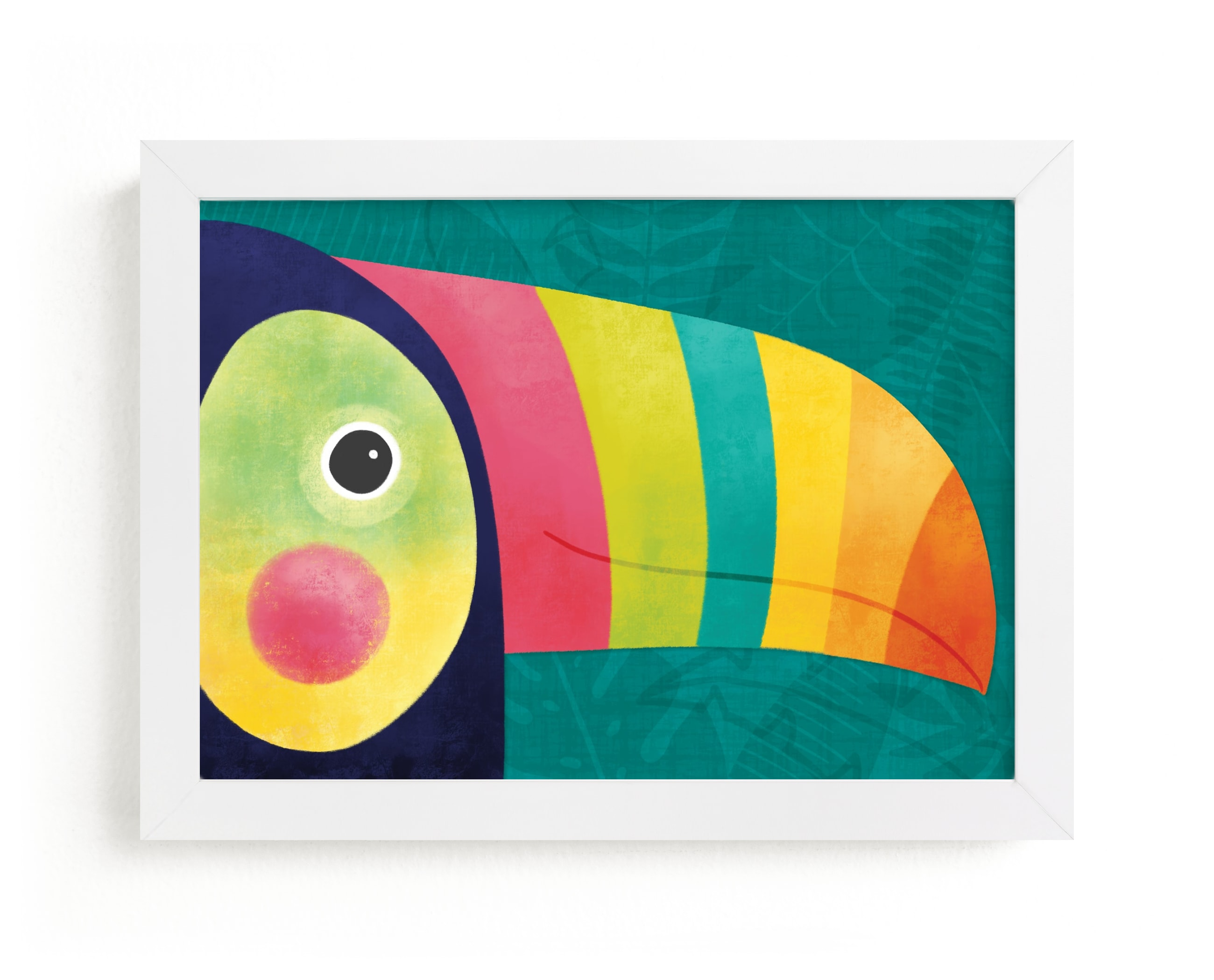 """""""Here's Looking At You"""" - Limited Edition Art Print by Noonday Design in beautiful frame options and a variety of sizes."""