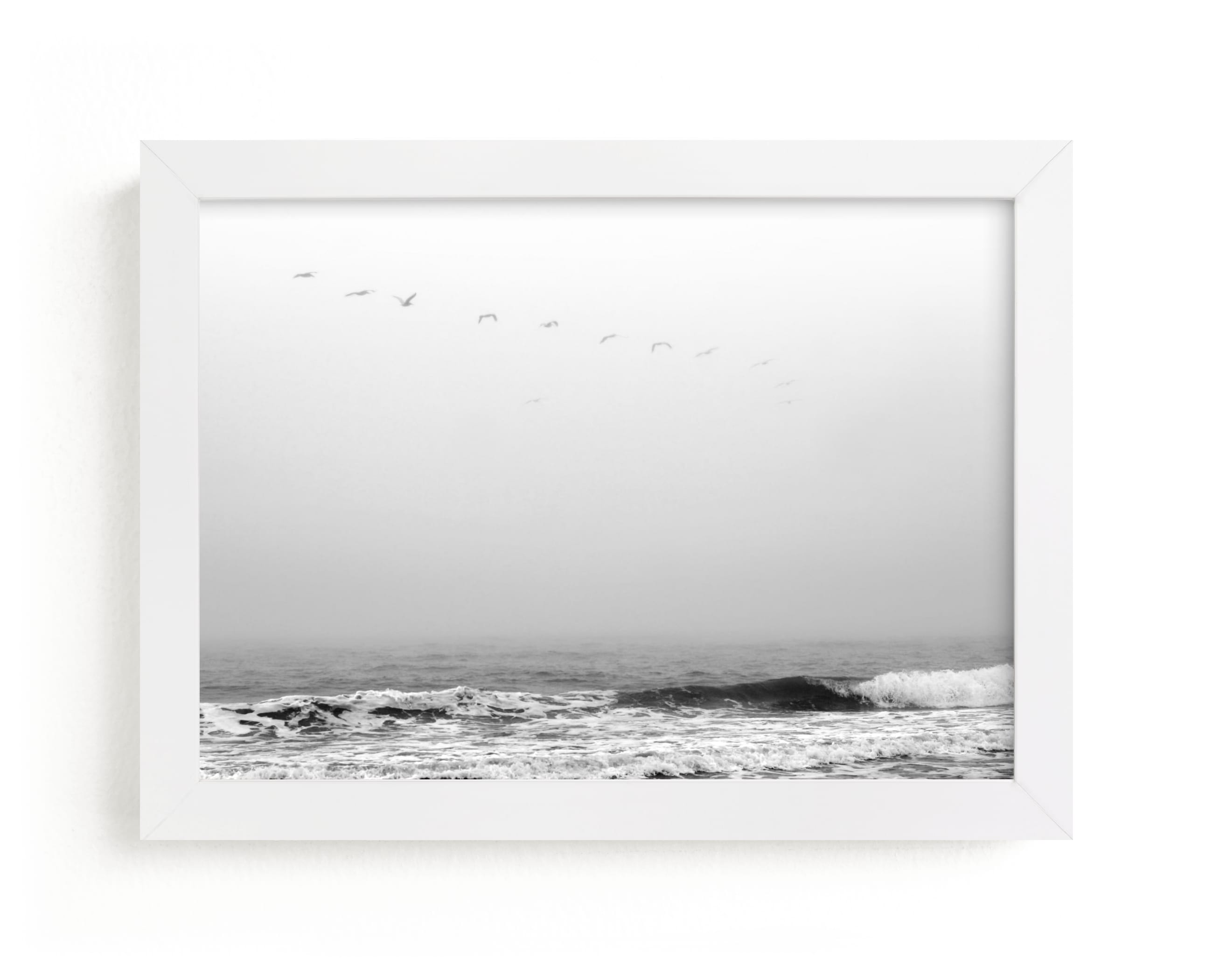 """""""Drifting Away"""" - Limited Edition Art Print by Janelle Wourms in beautiful frame options and a variety of sizes."""