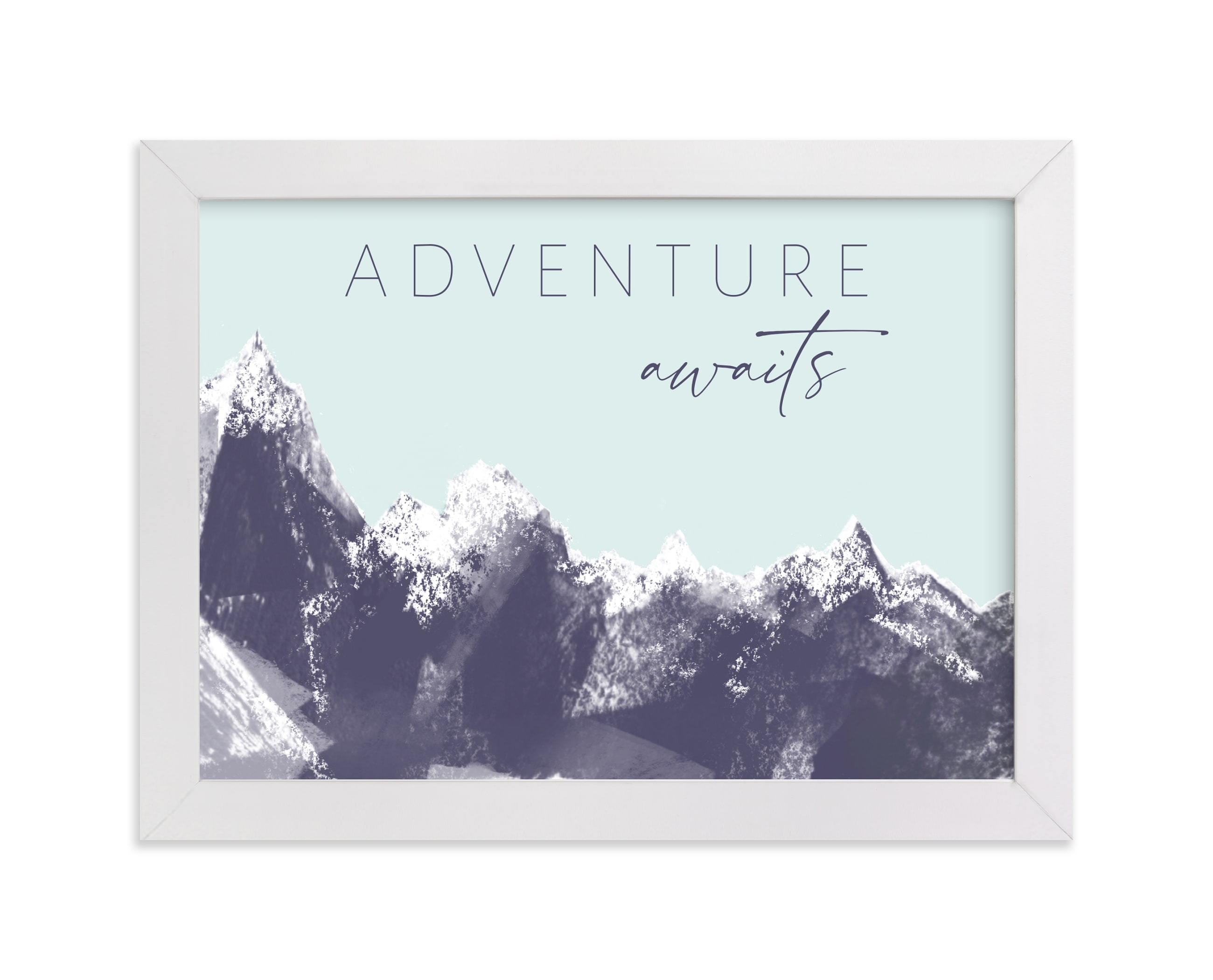 """""""Your Adventure"""" - Art Print by Eric Ransom in beautiful frame options and a variety of sizes."""