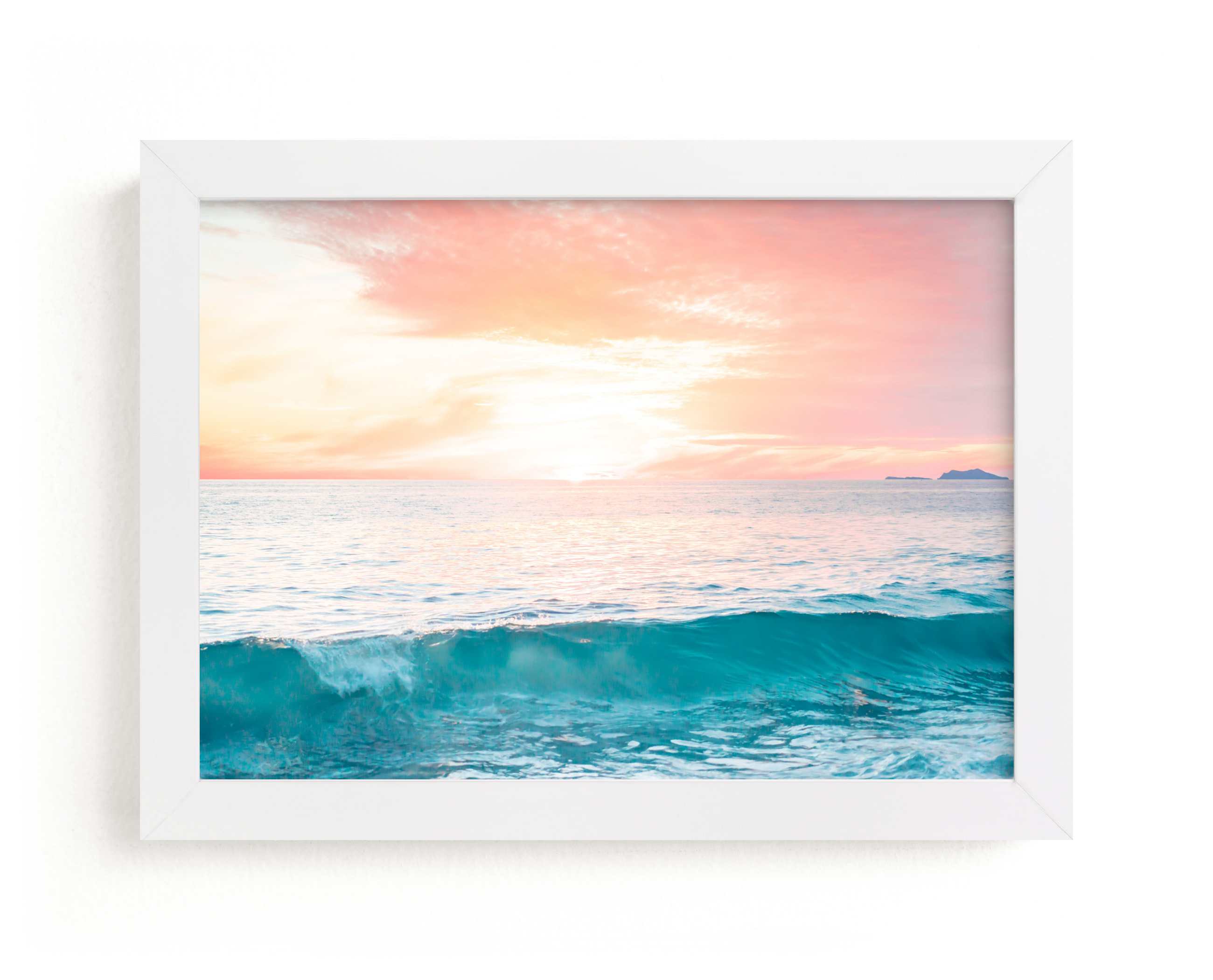 """""""SoCal Sorbet 3"""" - Art Print by Kamala Nahas in beautiful frame options and a variety of sizes."""