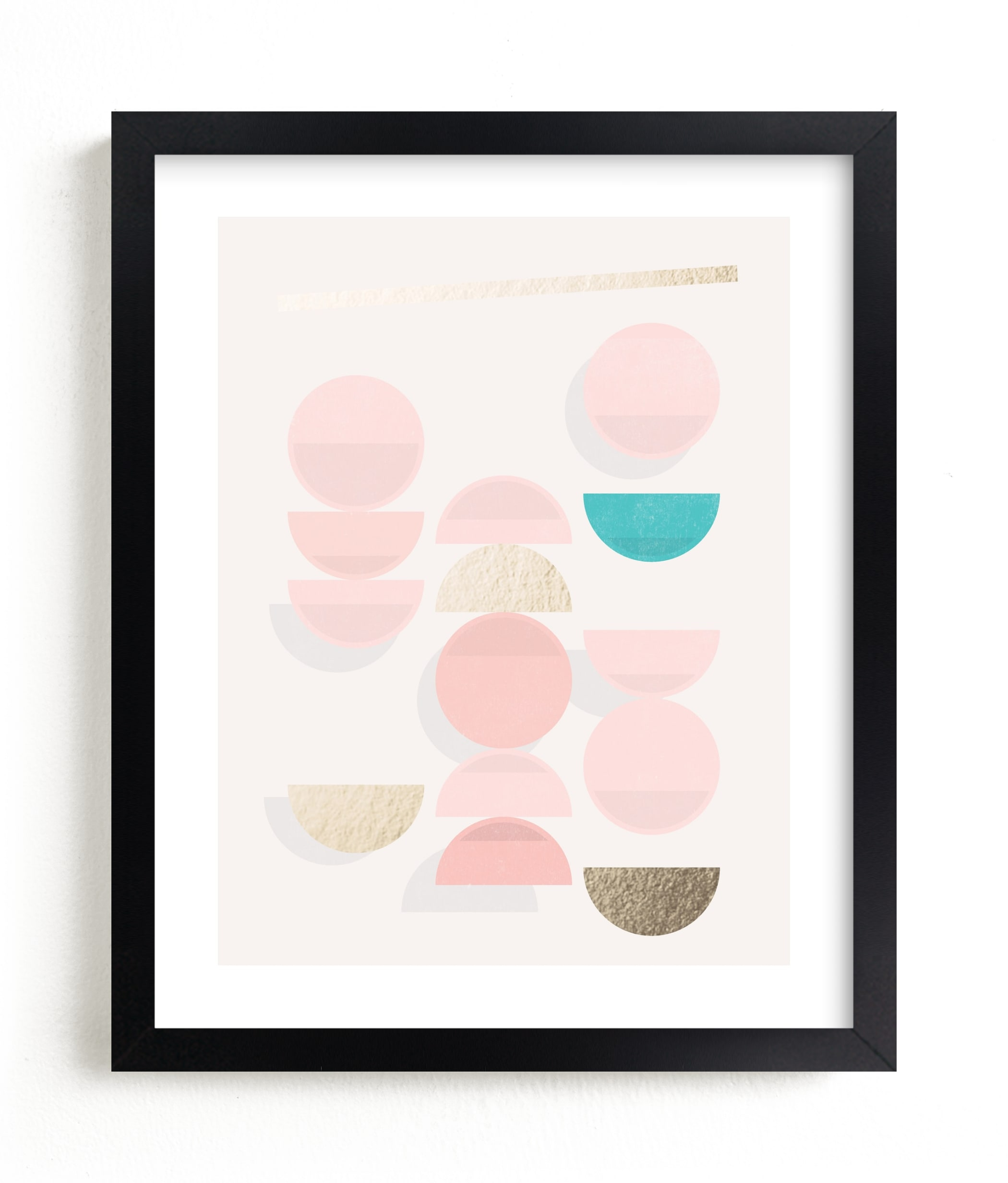 """""""Windchimes"""" - [non-custom] Foil-pressed Art Print by Jennifer Morehead in beautiful frame options and a variety of sizes."""