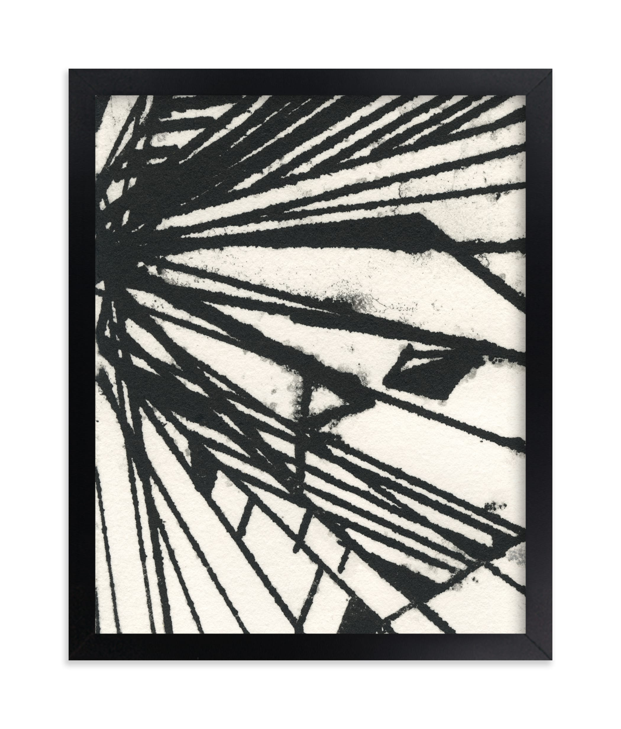 """""""Ink Shard Series 1"""" - Limited Edition Art Print by Angela Simeone in beautiful frame options and a variety of sizes."""