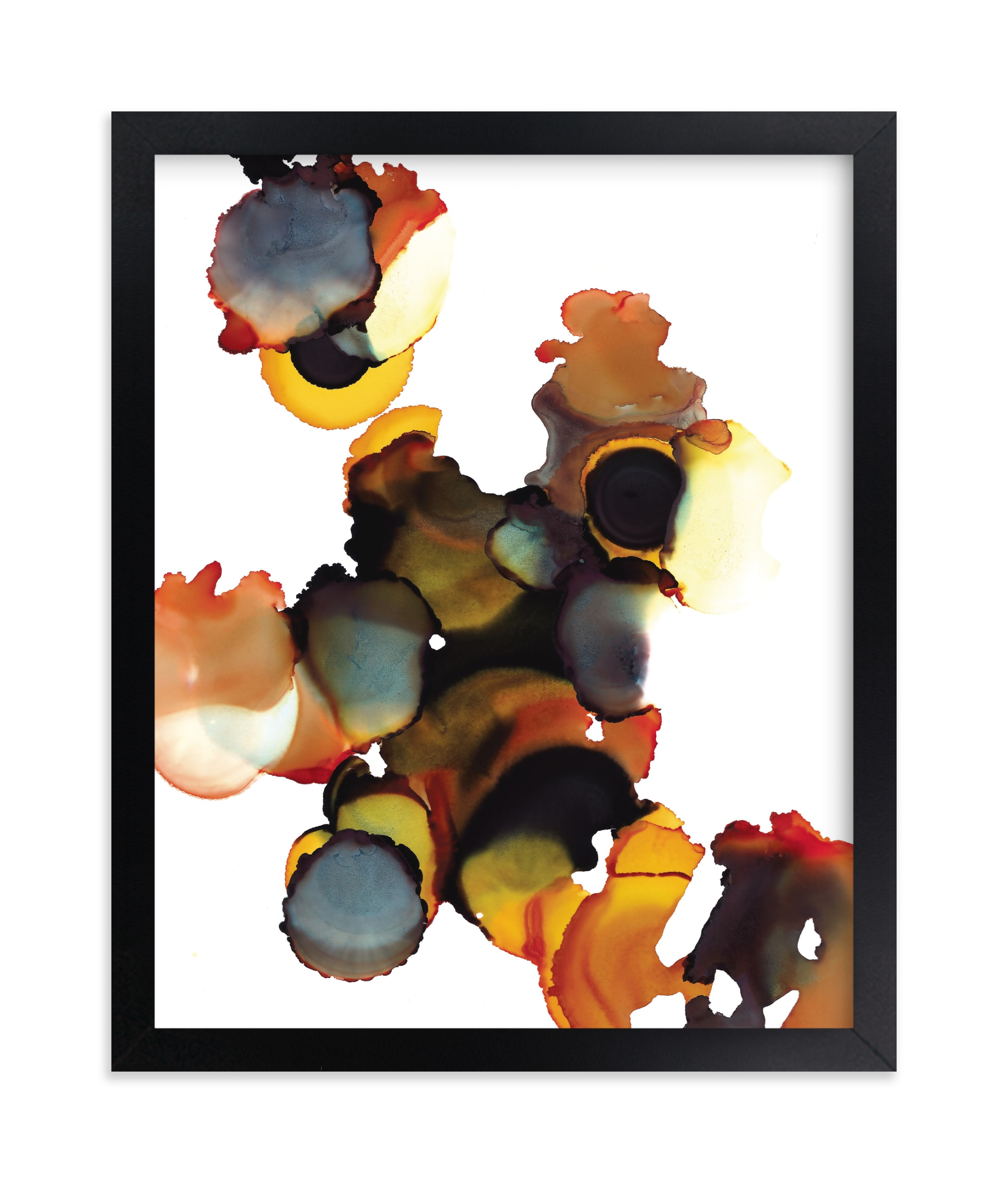 """""""Autumn"""" - Limited Edition Art Print by Jennifer Morehead in beautiful frame options and a variety of sizes."""