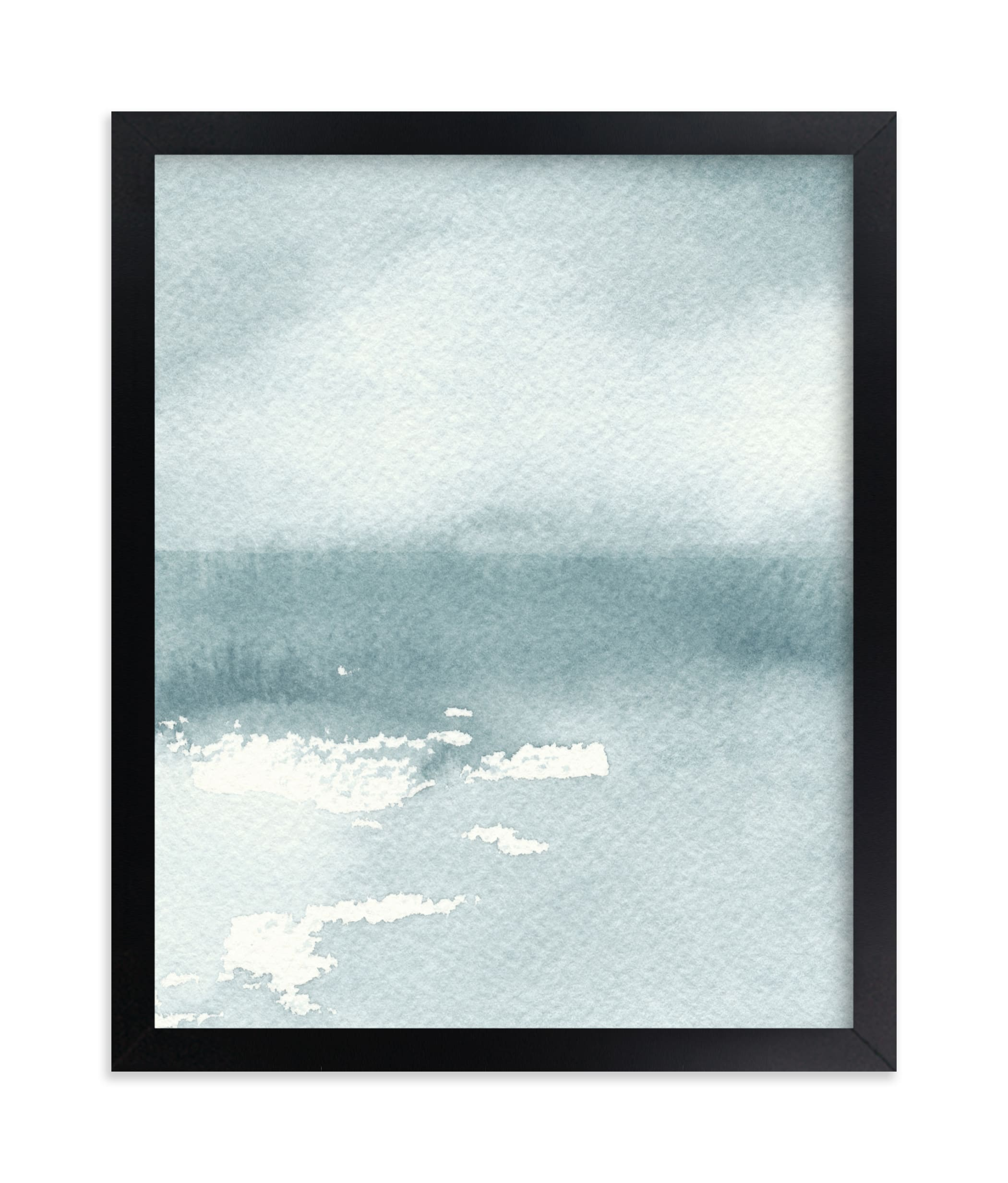 """""""Ice on the Lake"""" - Limited Edition Art Print by Renee Anne in beautiful frame options and a variety of sizes."""