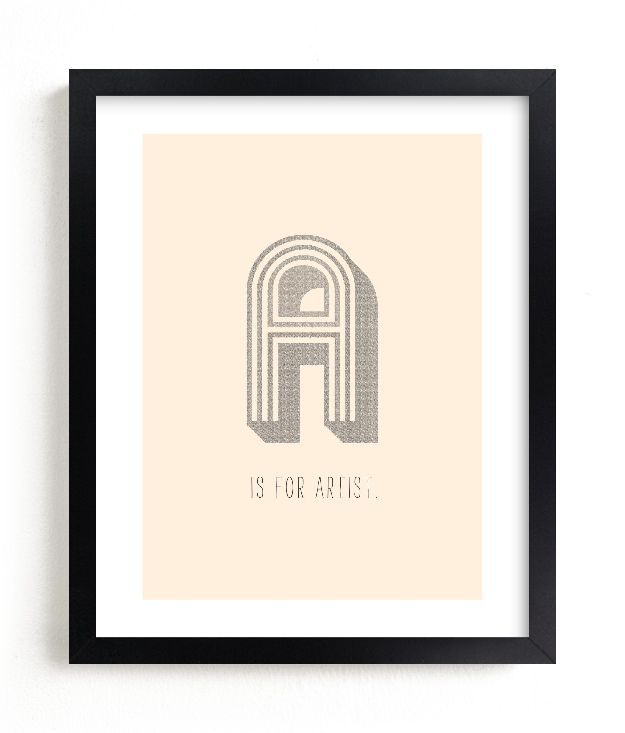 """""""Artisan"""" - Limited Edition Art Print by Marabou Design in beautiful frame options and a variety of sizes."""