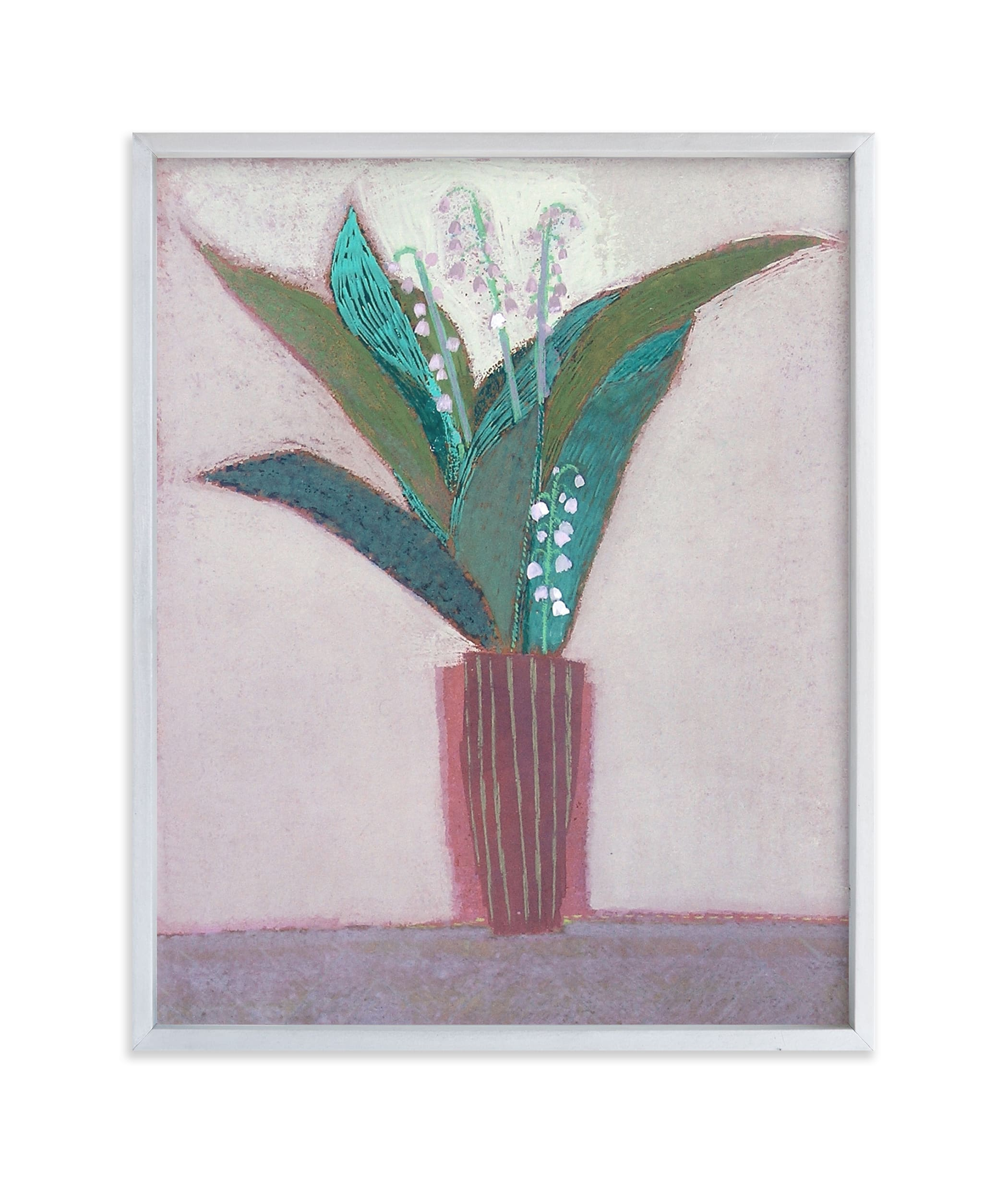 """lily of the valley"" - Limited Edition Art Print by Liz Innvar in beautiful frame options and a variety of sizes."