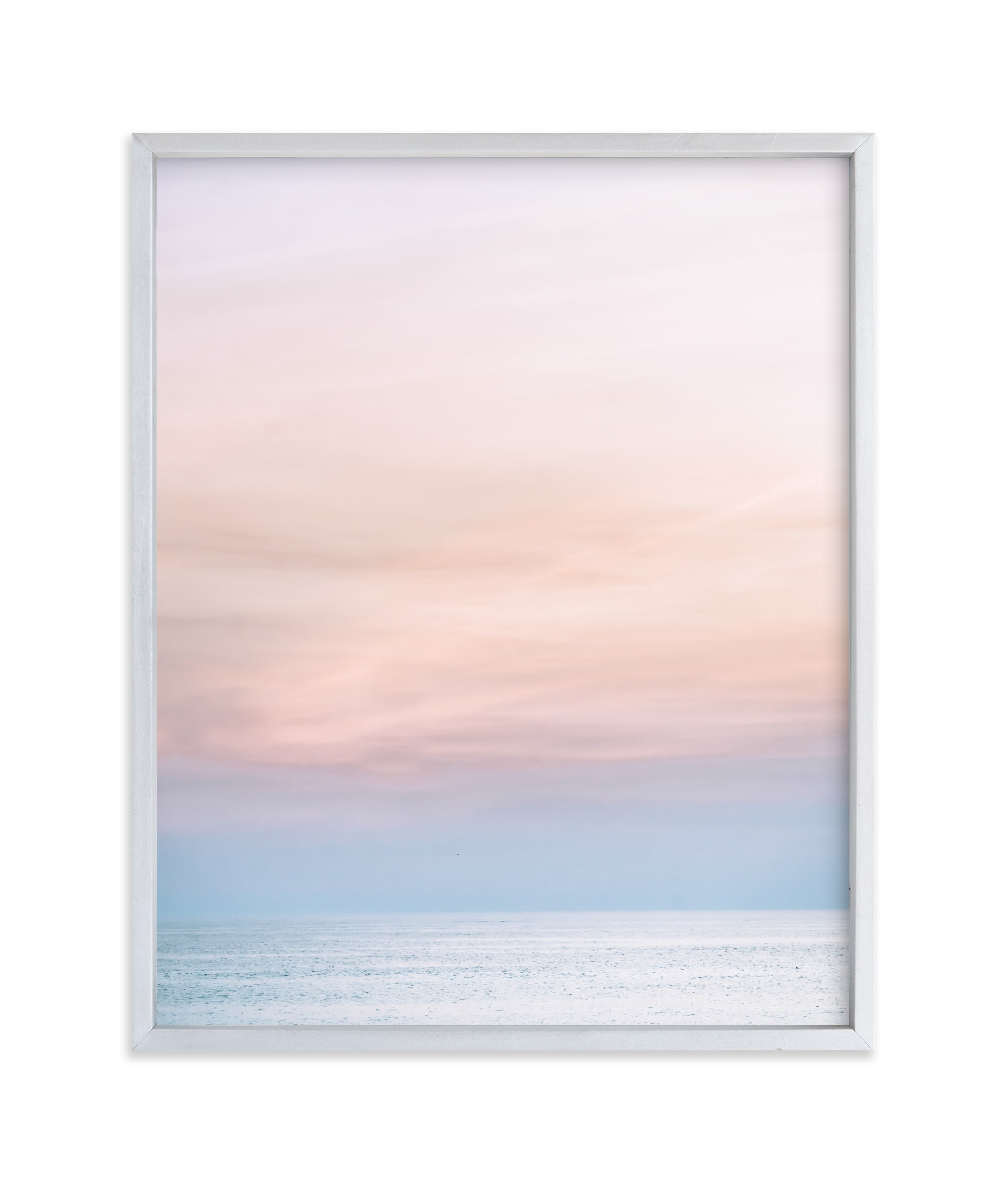 """""""Sea Blush"""" - Limited Edition Art Print by Kamala Nahas in beautiful frame options and a variety of sizes."""