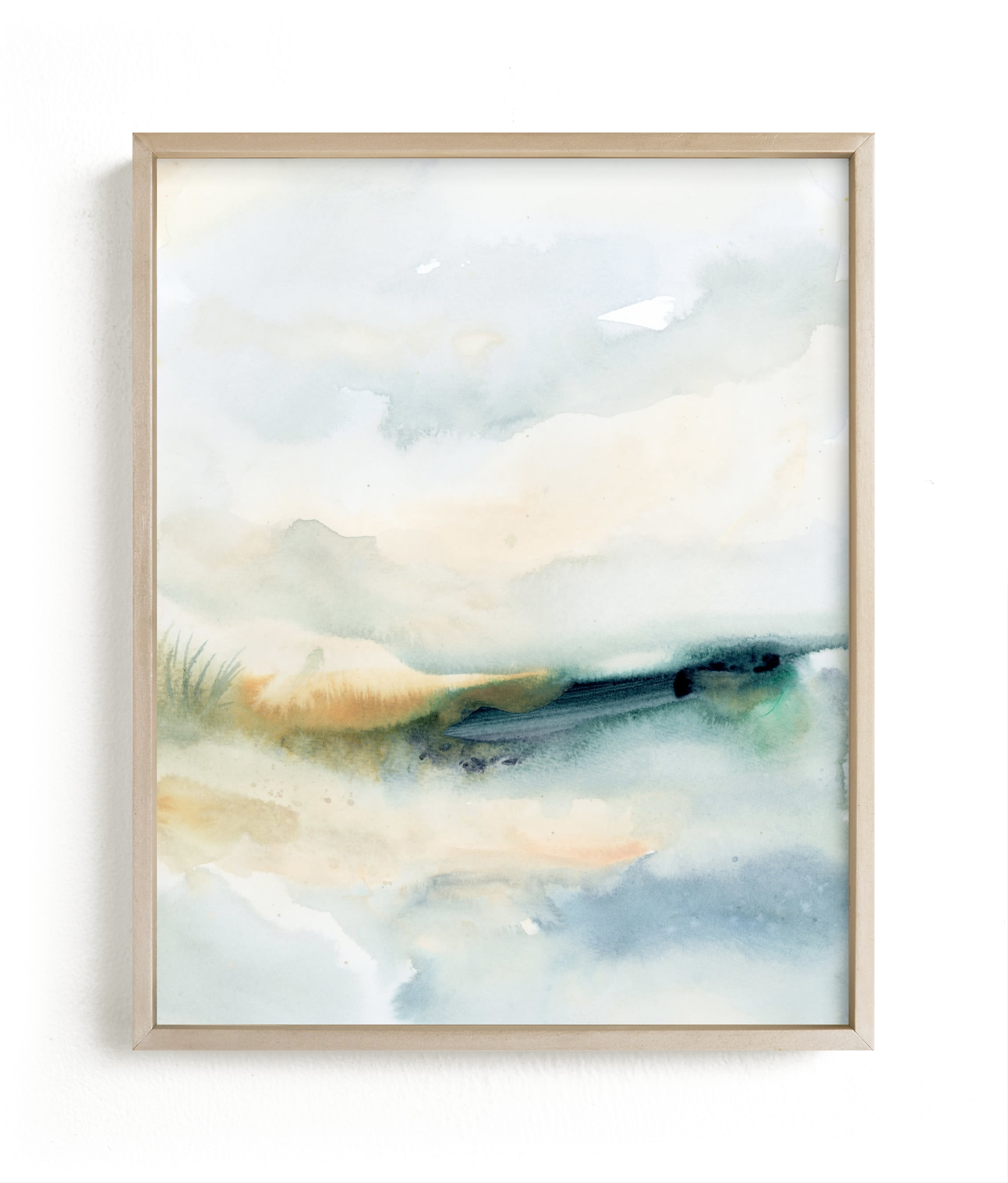 """Sea Mood II"" - Limited Edition Art Print by Lindsay Megahed in beautiful frame options and a variety of sizes."