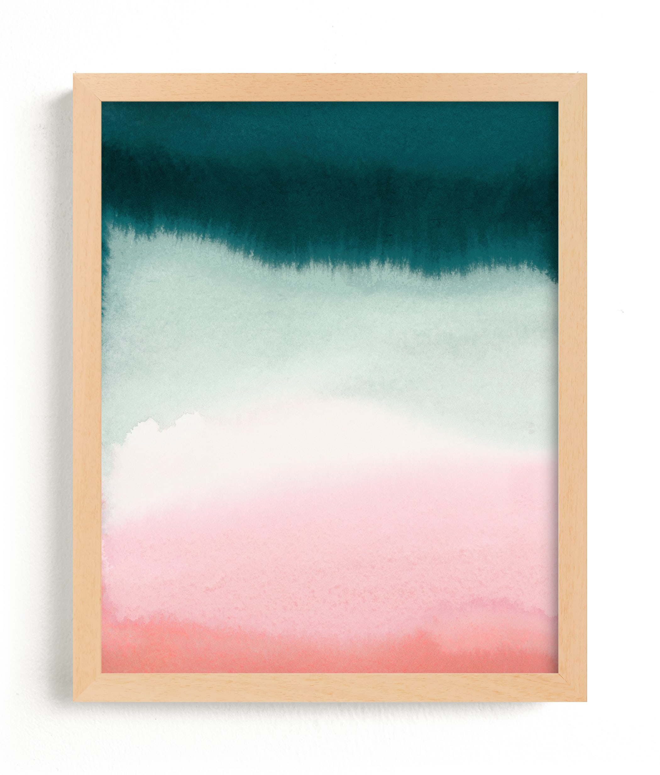 Pink Tide Wall Art Prints By A Real Peach Studio Minted