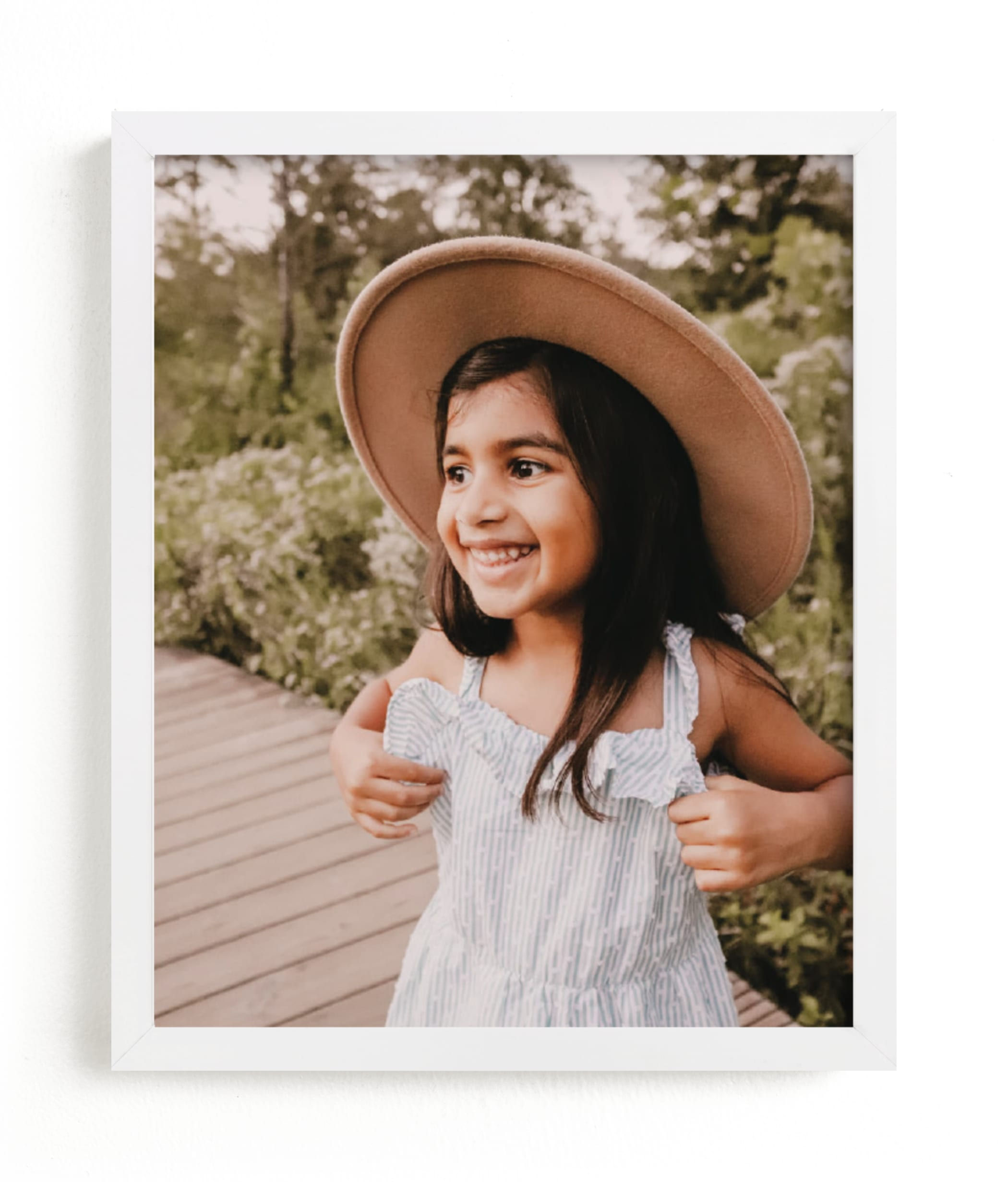 The Big Picture - Portrait Custom Photo Art Print
