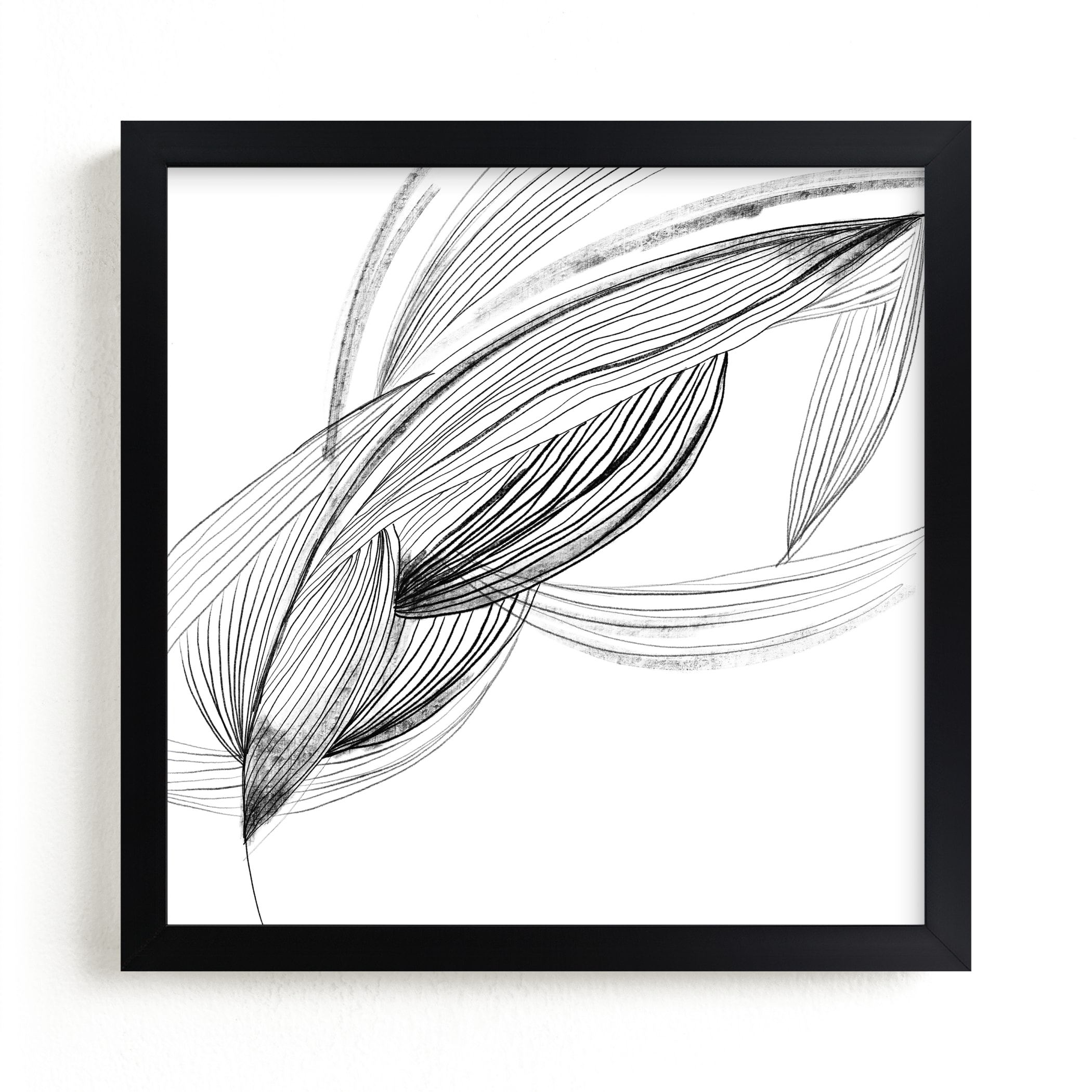 """""""Movement"""" - Limited Edition Art Print by Lucrecia in beautiful frame options and a variety of sizes."""