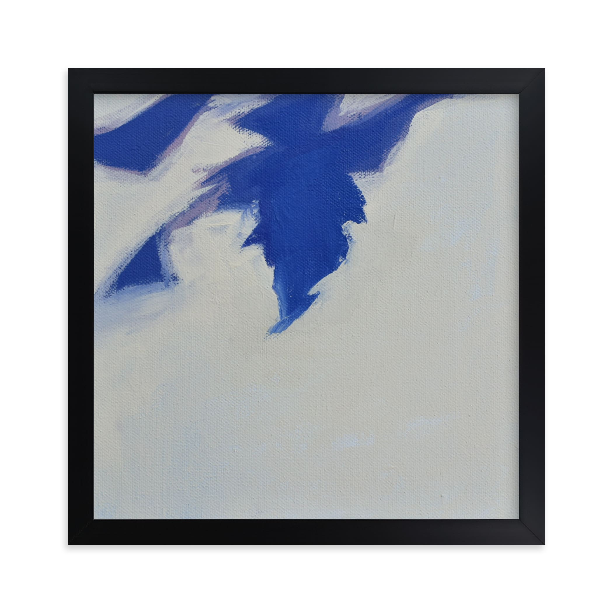 """""""Leaf Shadows II"""" - Limited Edition Art Print by Katie Analise in beautiful frame options and a variety of sizes."""
