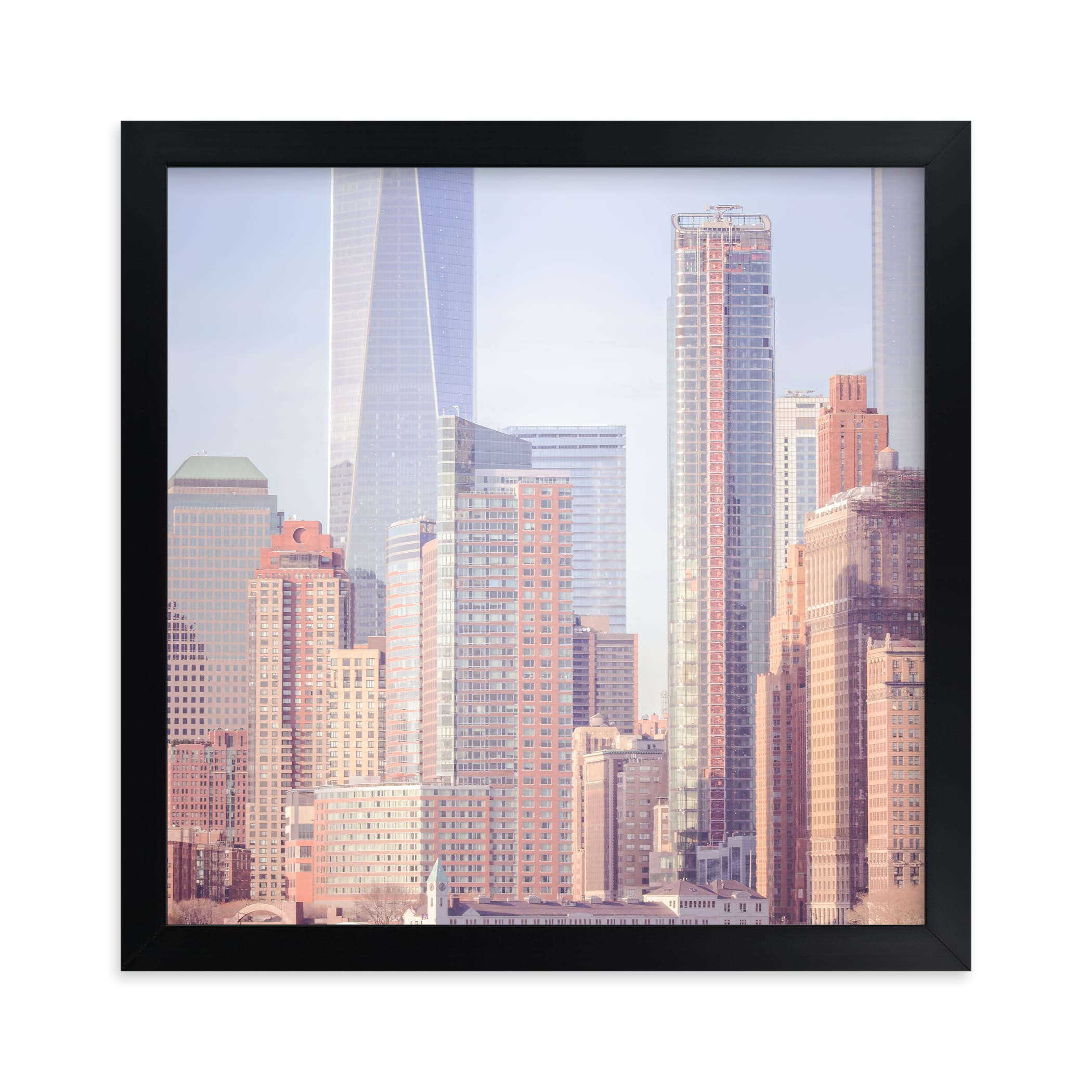 """""""A distant skyline"""" - Limited Edition Art Print by Lisa Sundin in beautiful frame options and a variety of sizes."""
