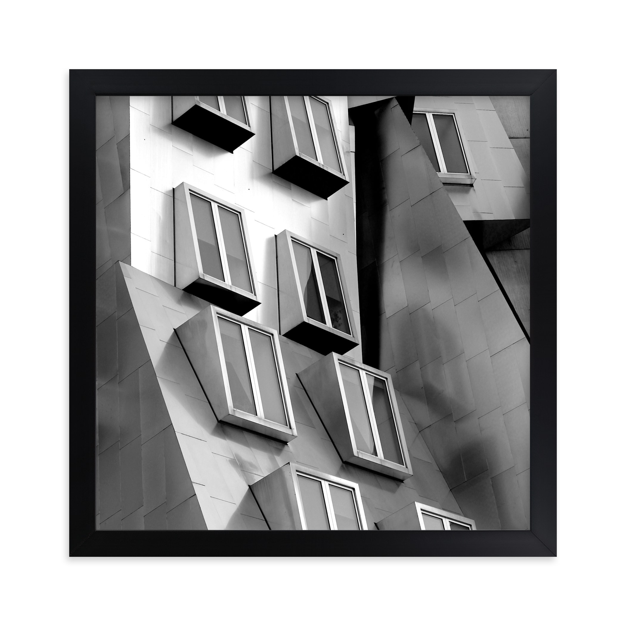 """""""Windows"""" - Limited Edition Art Print by Sadye Sagov in beautiful frame options and a variety of sizes."""
