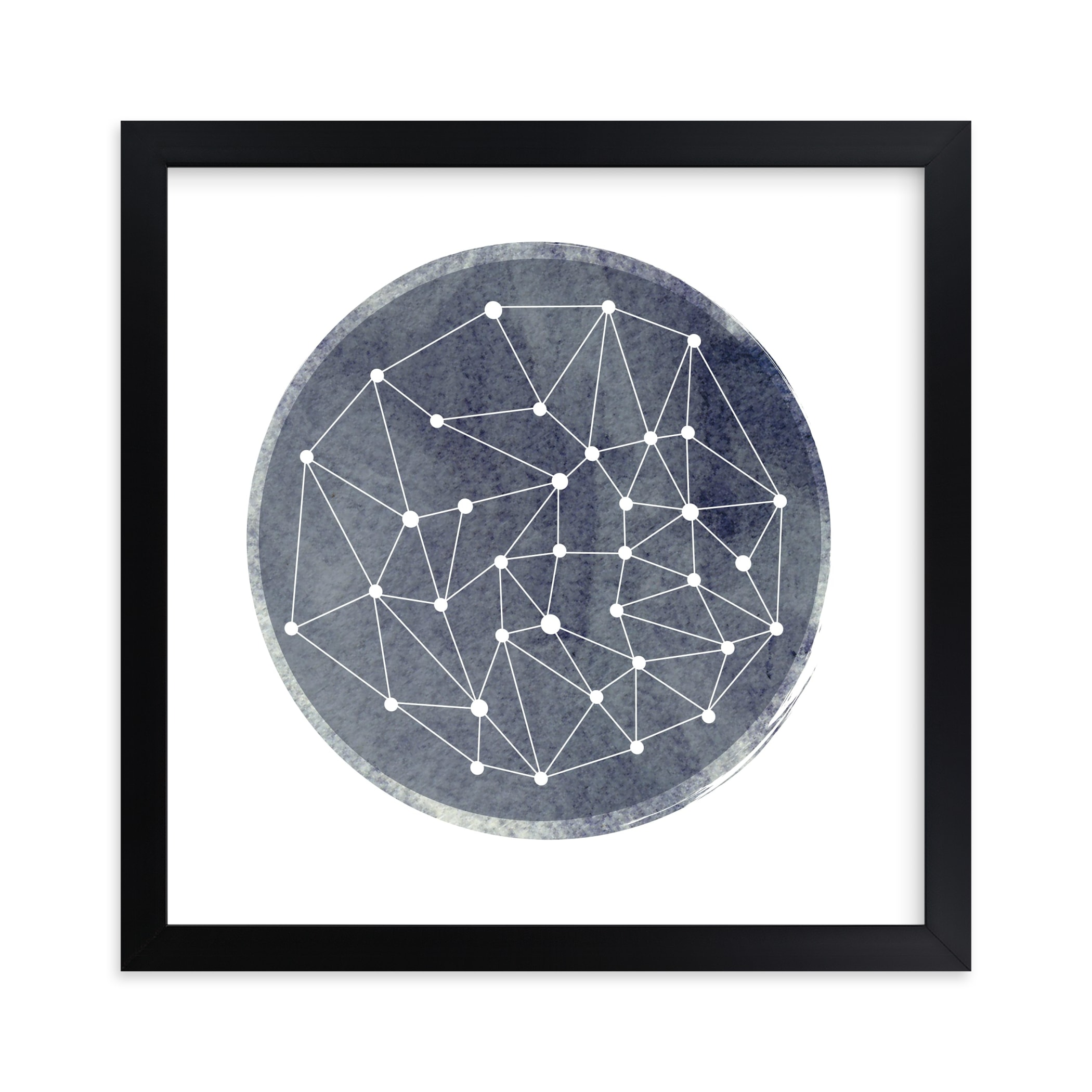 """""""Constellation"""" - Limited Edition Art Print by Annie Clark in beautiful frame options and a variety of sizes."""