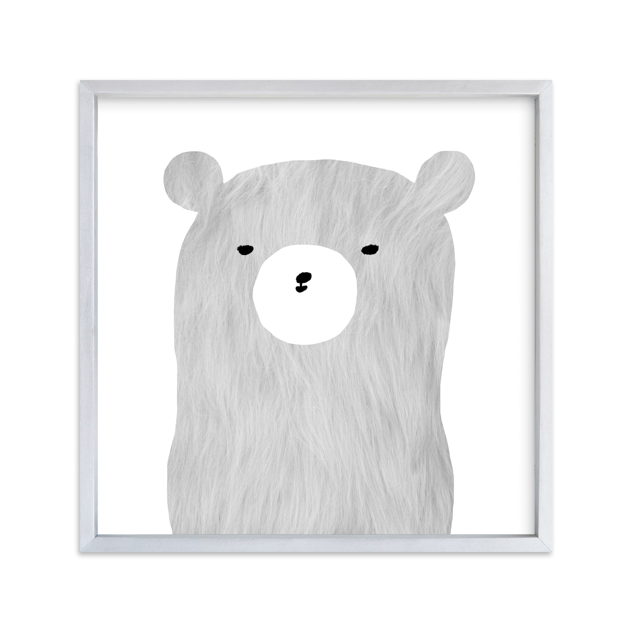 """""""furry bear"""" - Limited Edition Art Print by Susanne Kasielke in beautiful frame options and a variety of sizes."""