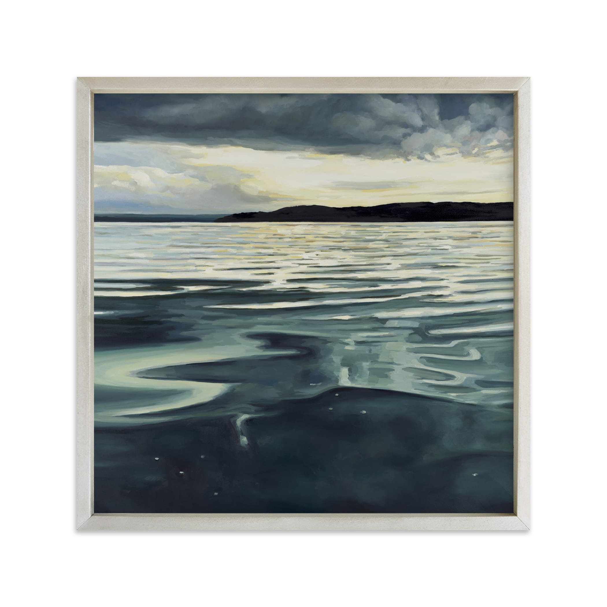 """On the Sound"" - Limited Edition Art Print by Kelly Johnston in beautiful frame options and a variety of sizes."