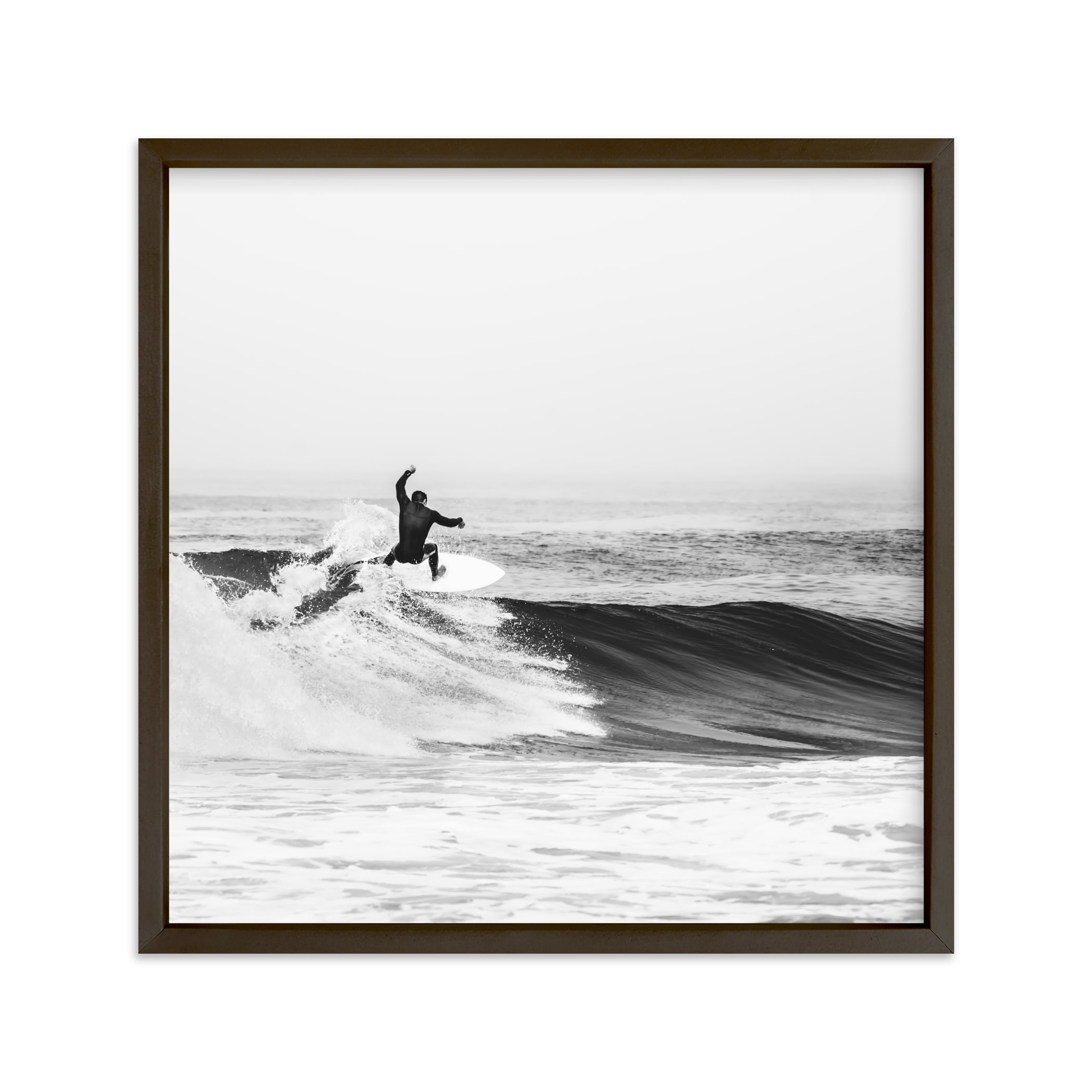 """Surfs Up"" - Limited Edition Art Print by Kamala Nahas in beautiful frame options and a variety of sizes."