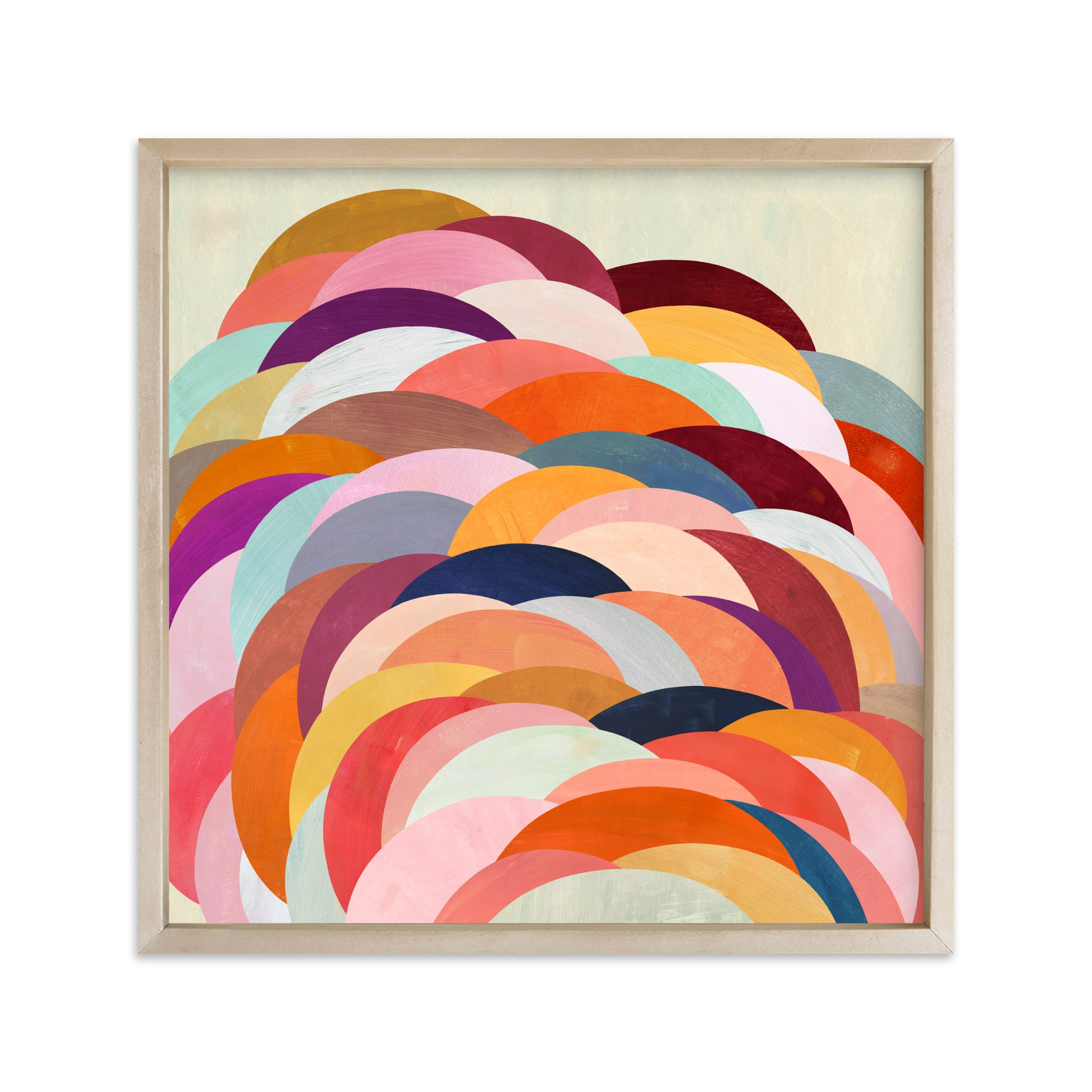 """""""Discus"""" - Limited Edition Art Print by melanie mikecz in beautiful frame options and a variety of sizes."""