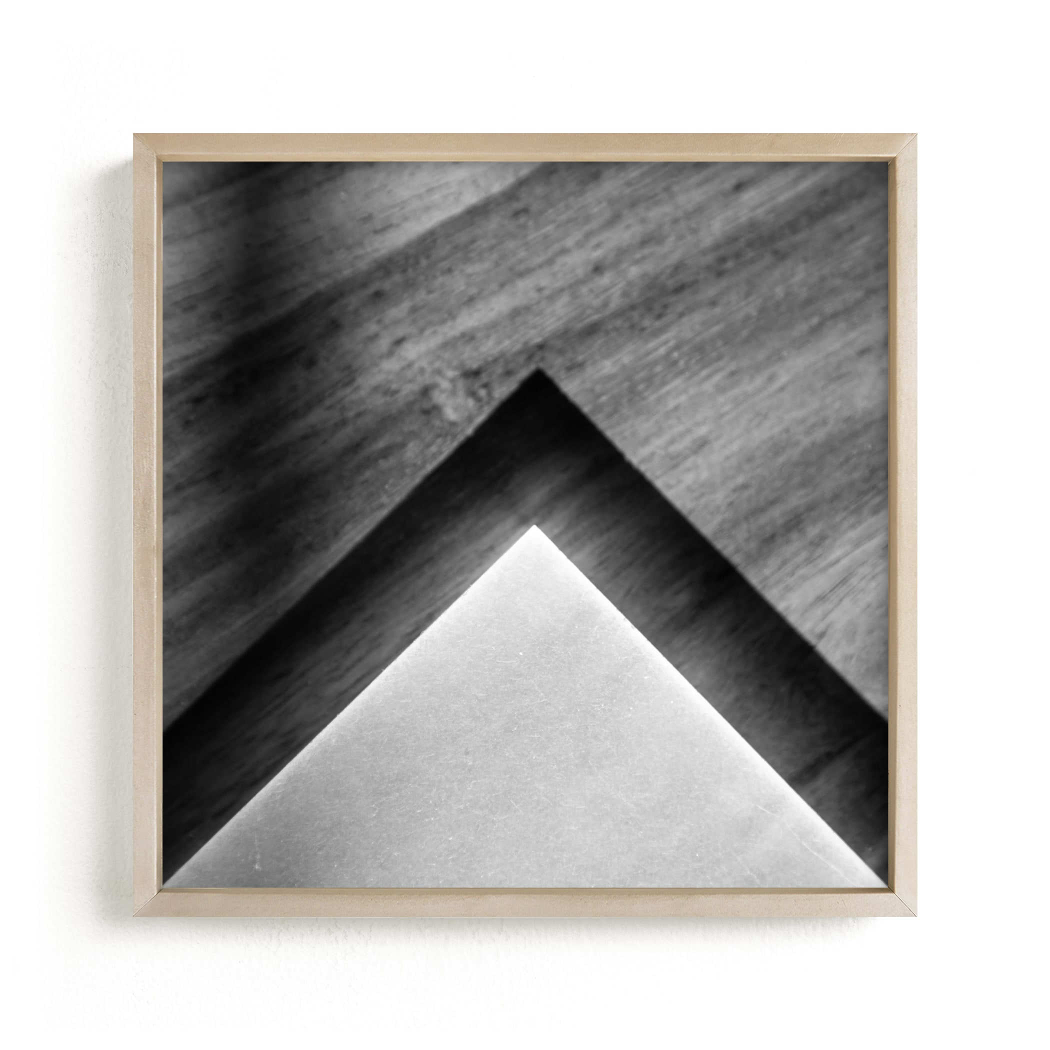 """""""Shadow Geometry #2"""" - Limited Edition Art Print by Van Tsao in beautiful frame options and a variety of sizes."""