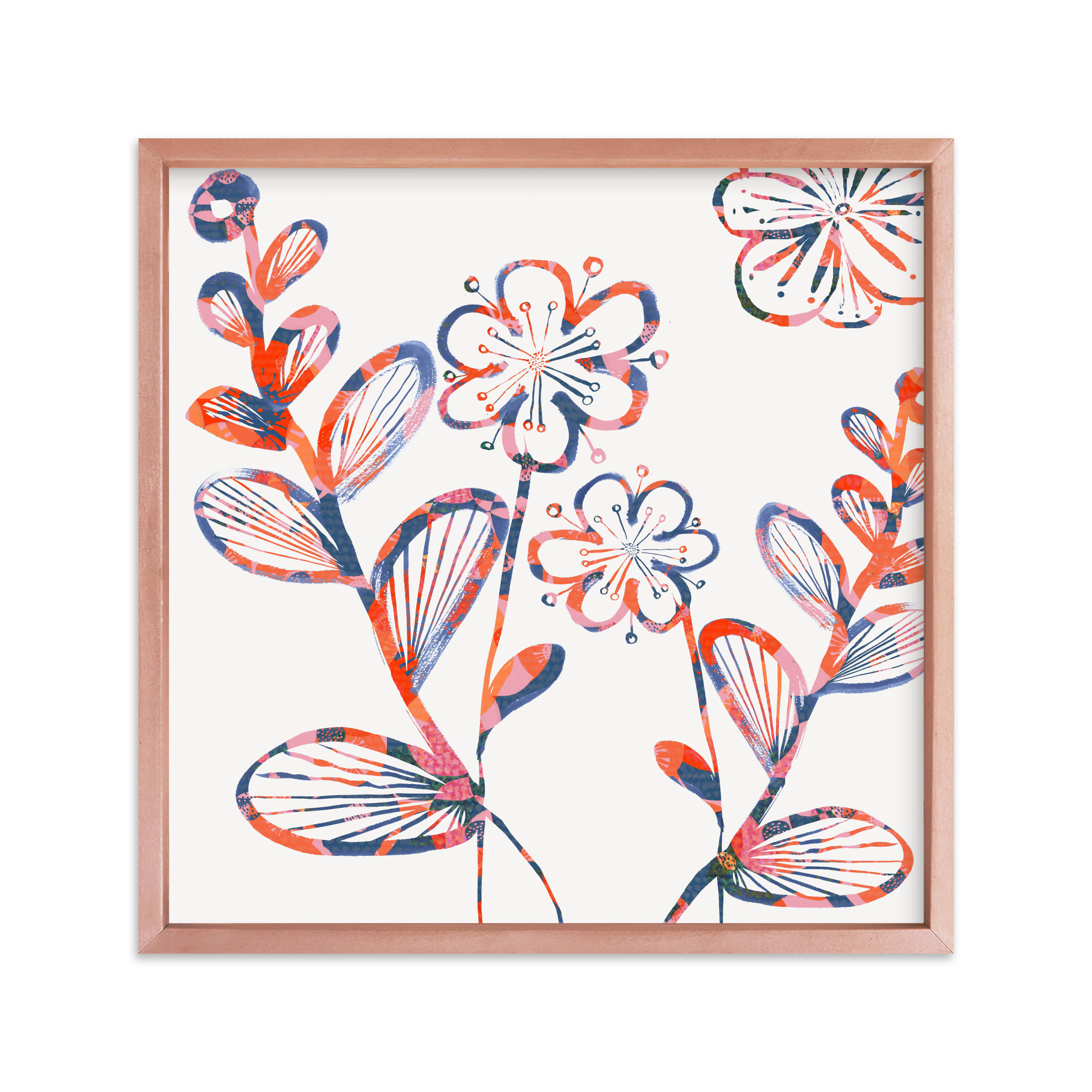 """""""Flower Power Bloom"""" - Limited Edition Art Print by Bethania Lima in beautiful frame options and a variety of sizes."""