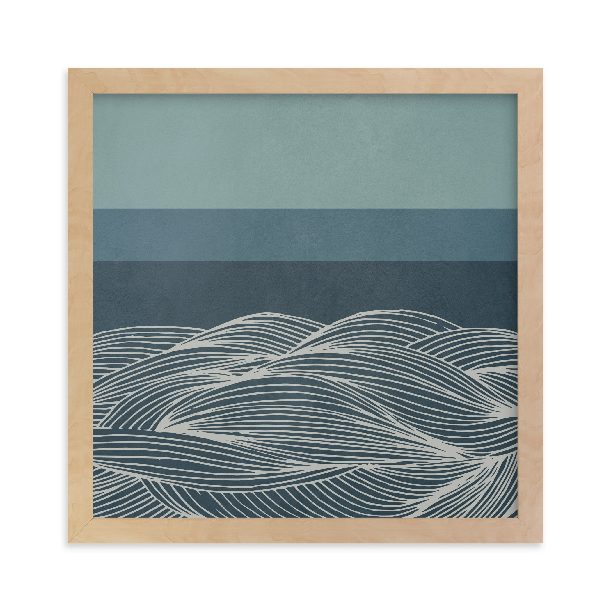 """""""Deep Sea"""" - Limited Edition Art Print by Lucrecia in beautiful frame options and a variety of sizes."""