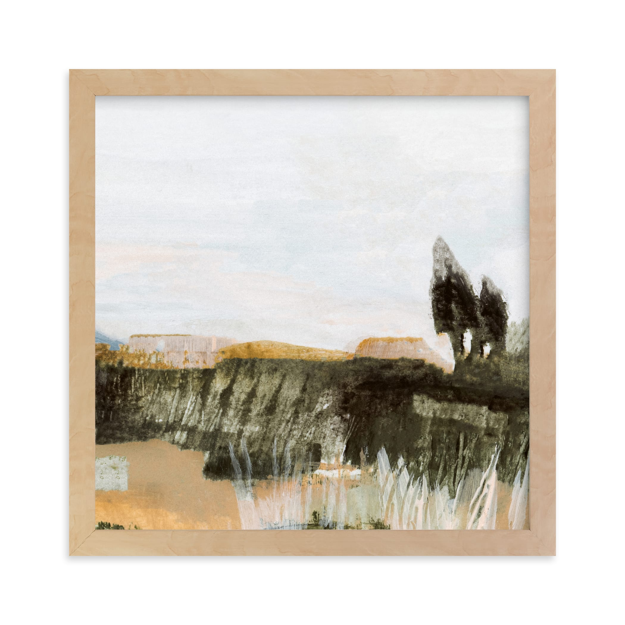 """""""Hudson (Triptych) III"""" - Limited Edition Art Print by Mande Calhoun in beautiful frame options and a variety of sizes."""
