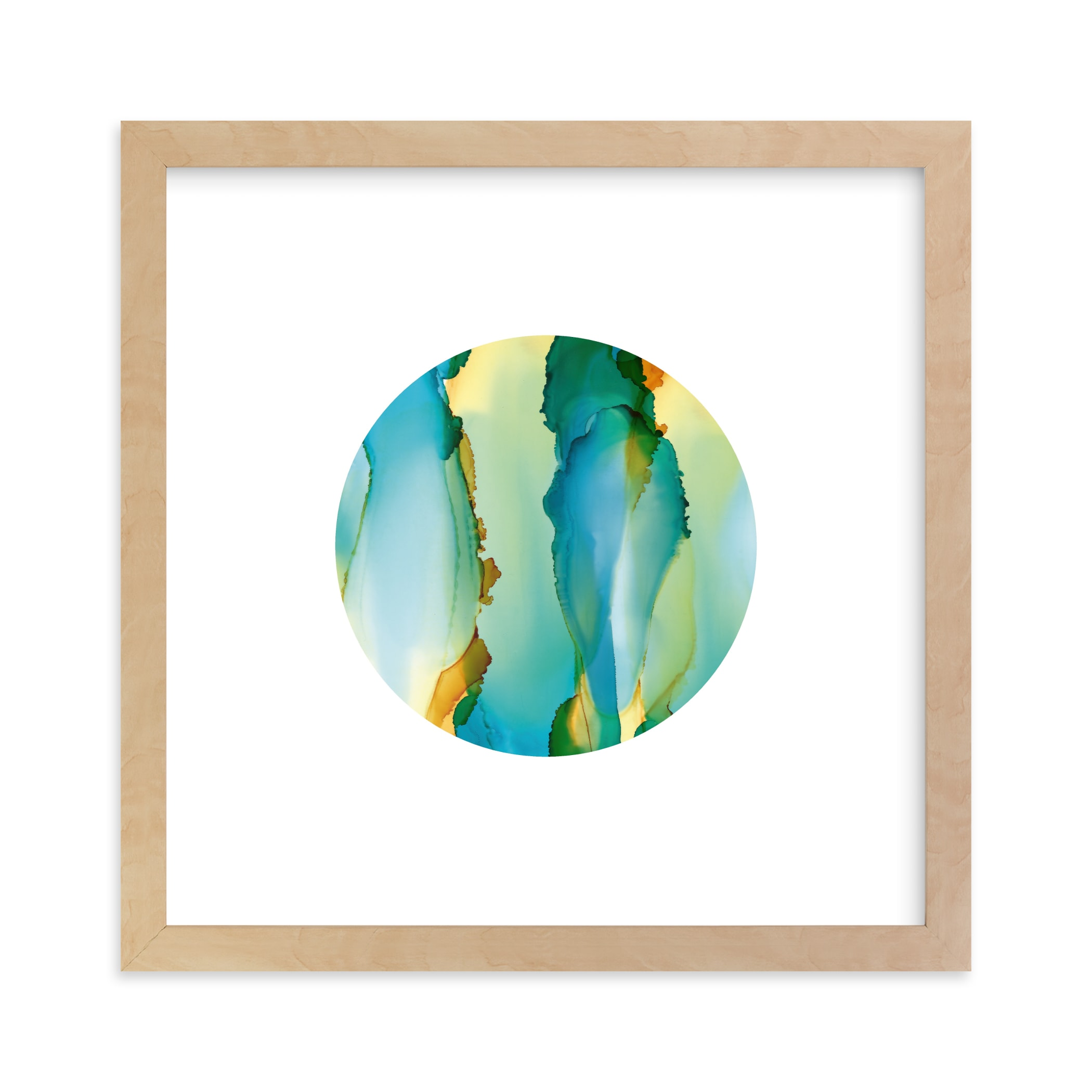 """""""Marine"""" - Limited Edition Art Print by Jennifer Morehead in beautiful frame options and a variety of sizes."""