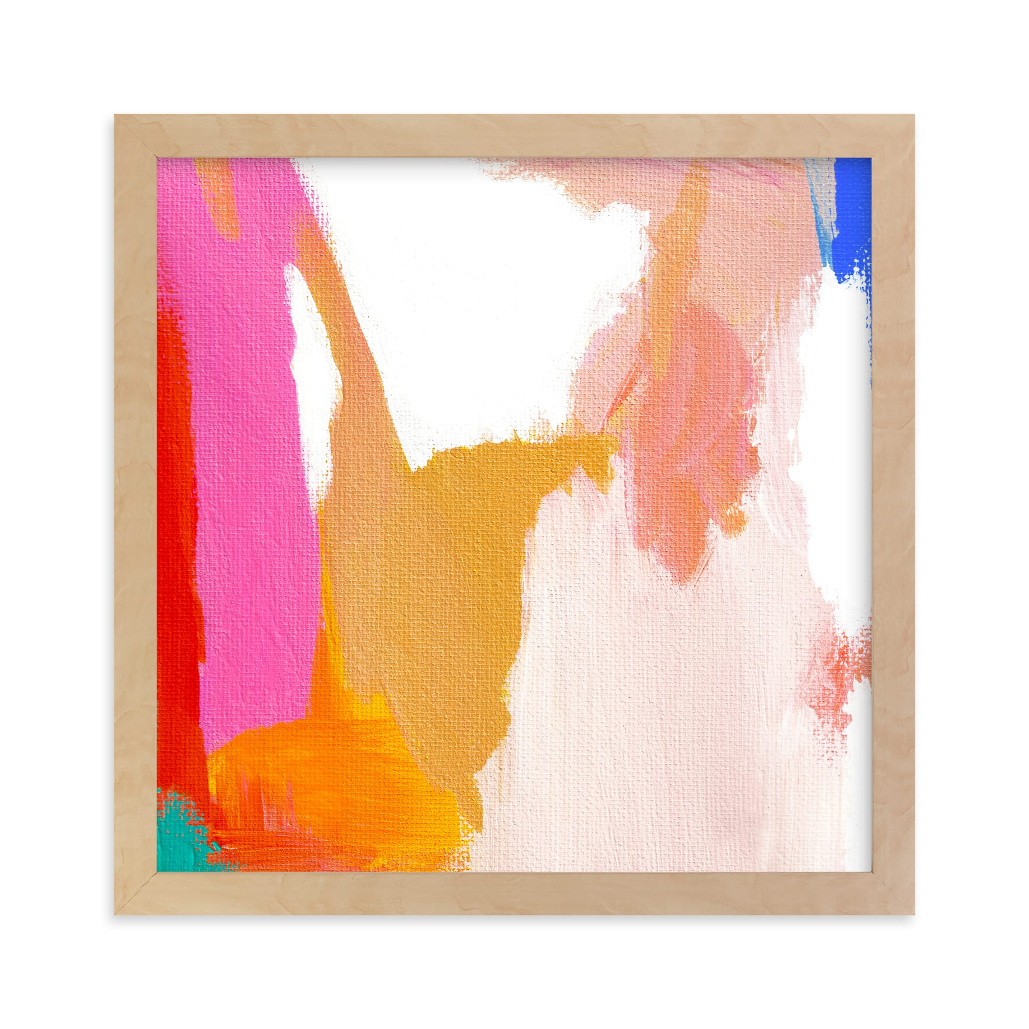 """Malibu Abstract"" - Limited Edition Art Print by Jenny Partrite in beautiful frame options and a variety of sizes."