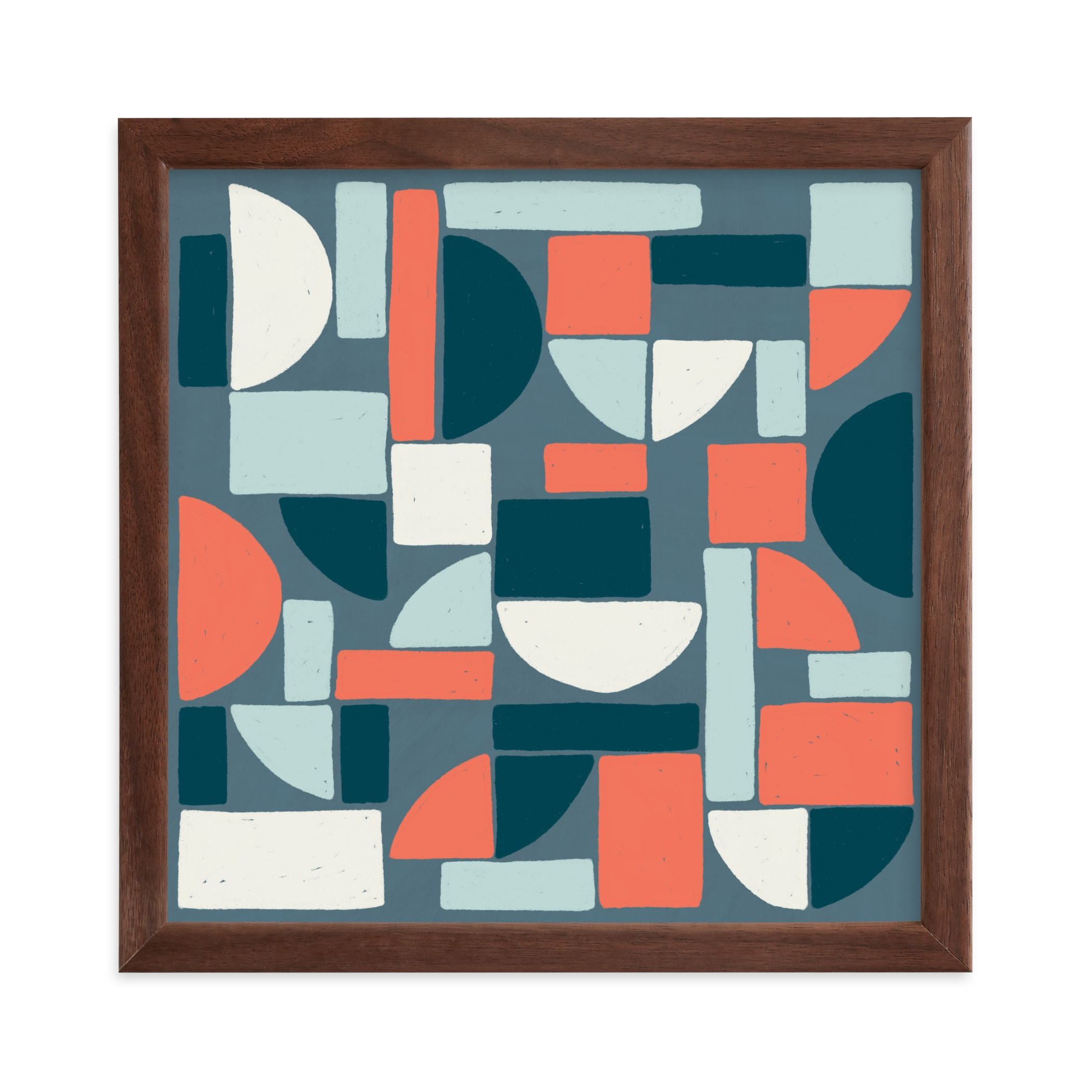 """""""Coming Together"""" - Limited Edition Art Print by Betsy Siber in beautiful frame options and a variety of sizes."""