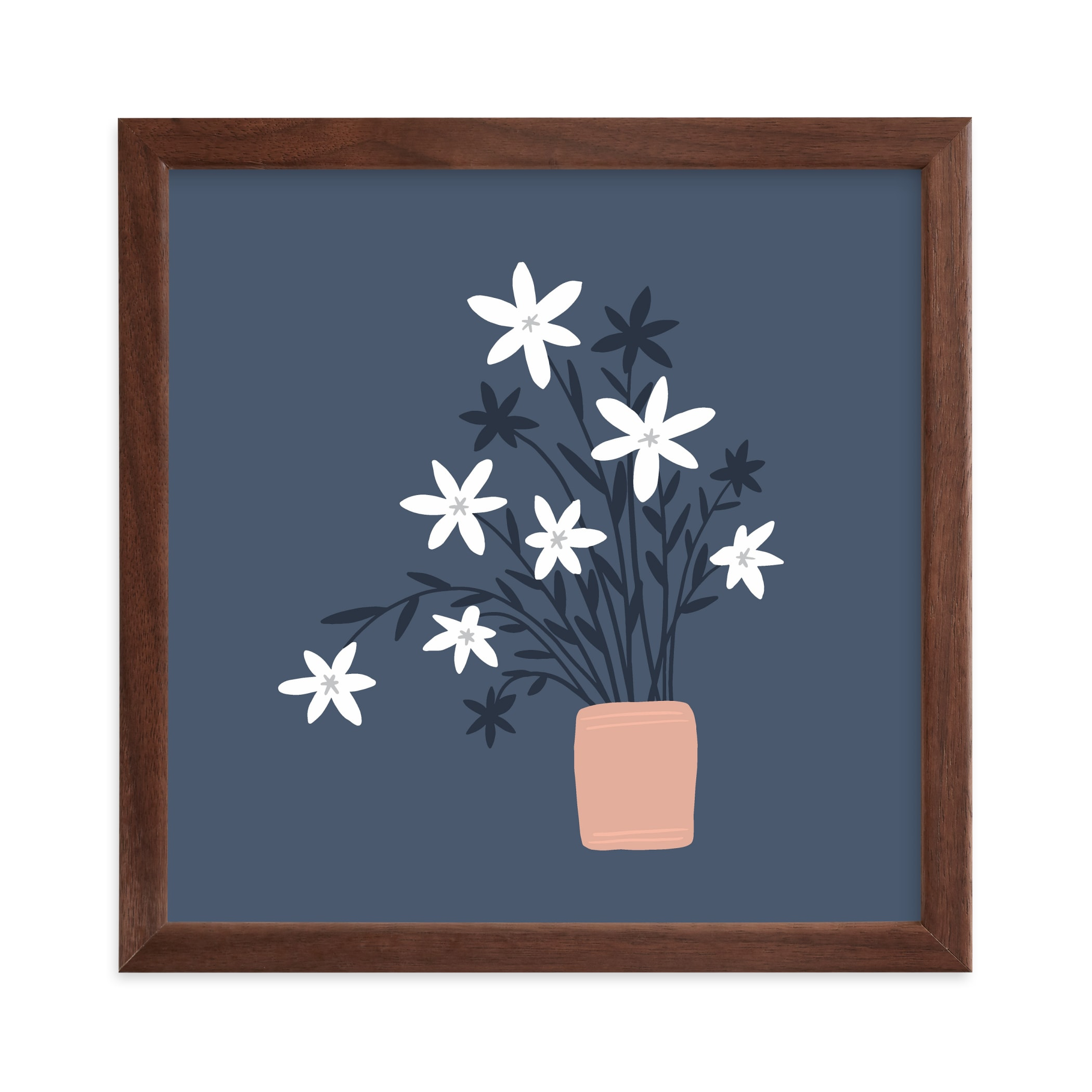 """Wildflower Bunch"" - Limited Edition Art Print by Betsy Siber in beautiful frame options and a variety of sizes."