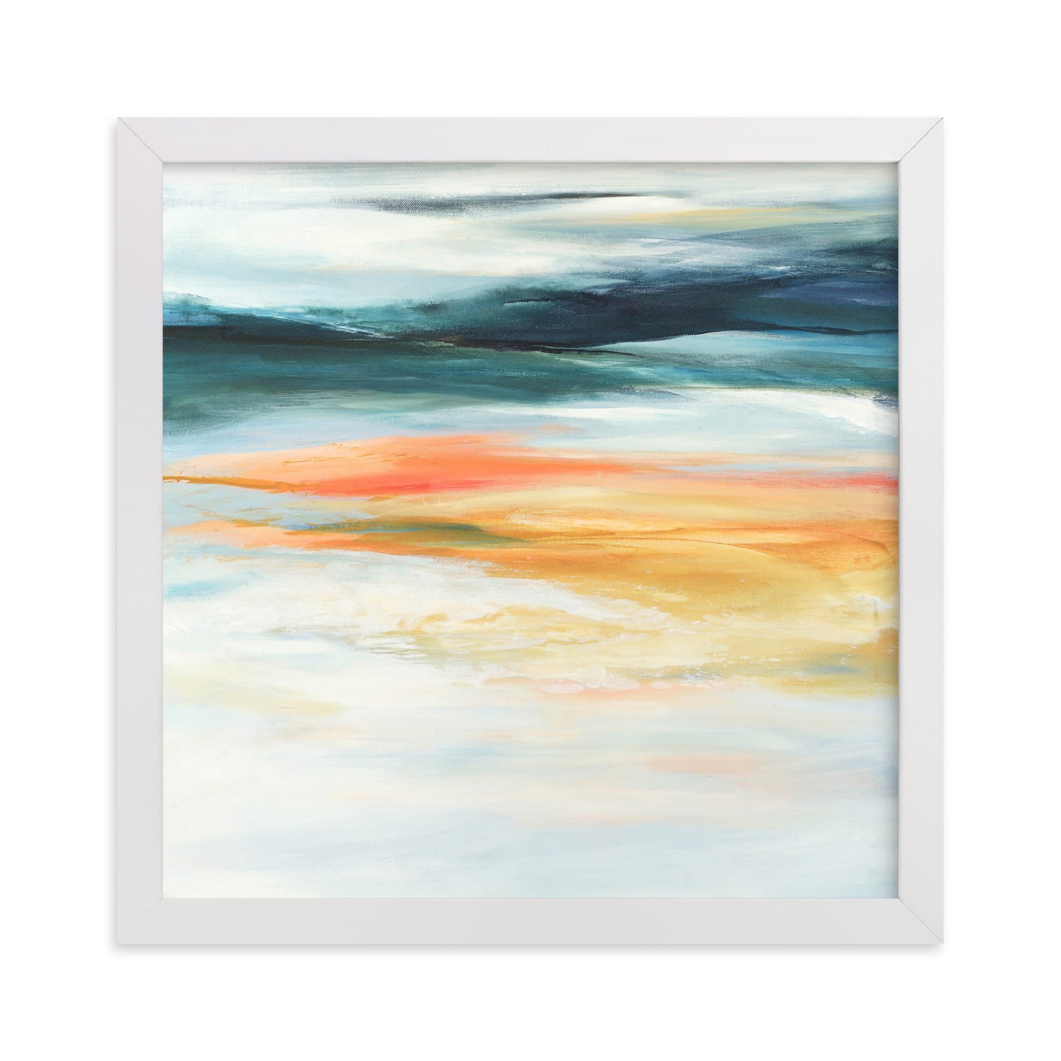 """""""Mineral Lake"""" - Limited Edition Art Print by Mya Bessette in beautiful frame options and a variety of sizes."""