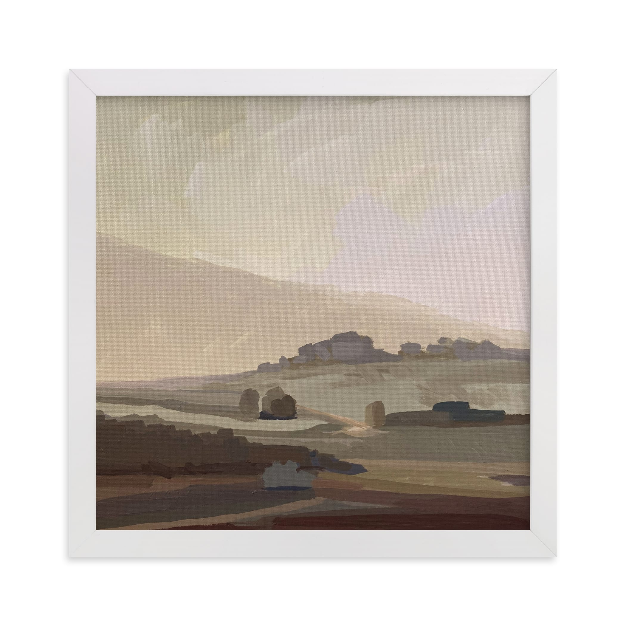 """""""Misty Daybreak"""" - Limited Edition Art Print by Amanda Phelps in beautiful frame options and a variety of sizes."""