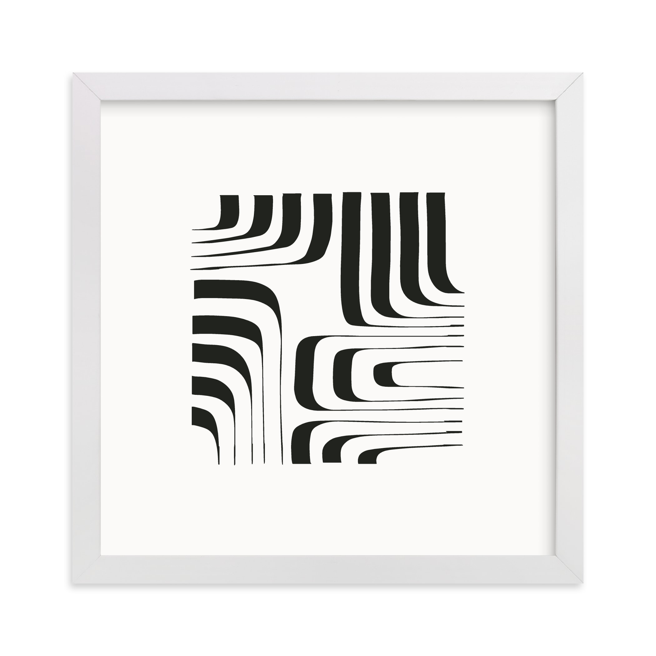 """""""Linear"""" - Limited Edition Art Print by Jennifer Morehead in beautiful frame options and a variety of sizes."""