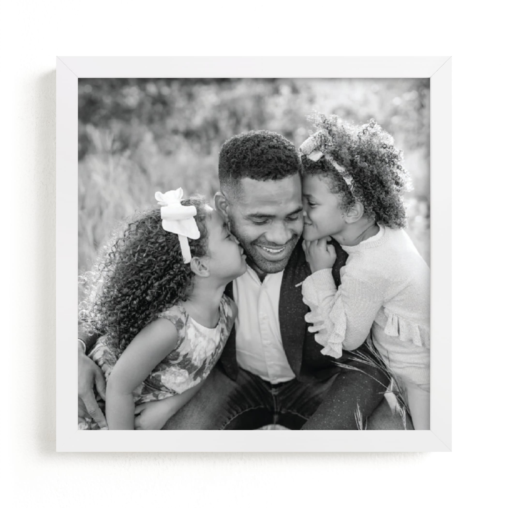 """""""Big Picture - Square"""" - Custom Photo Art Print by Minted Custom in beautiful frame options and a variety of sizes."""