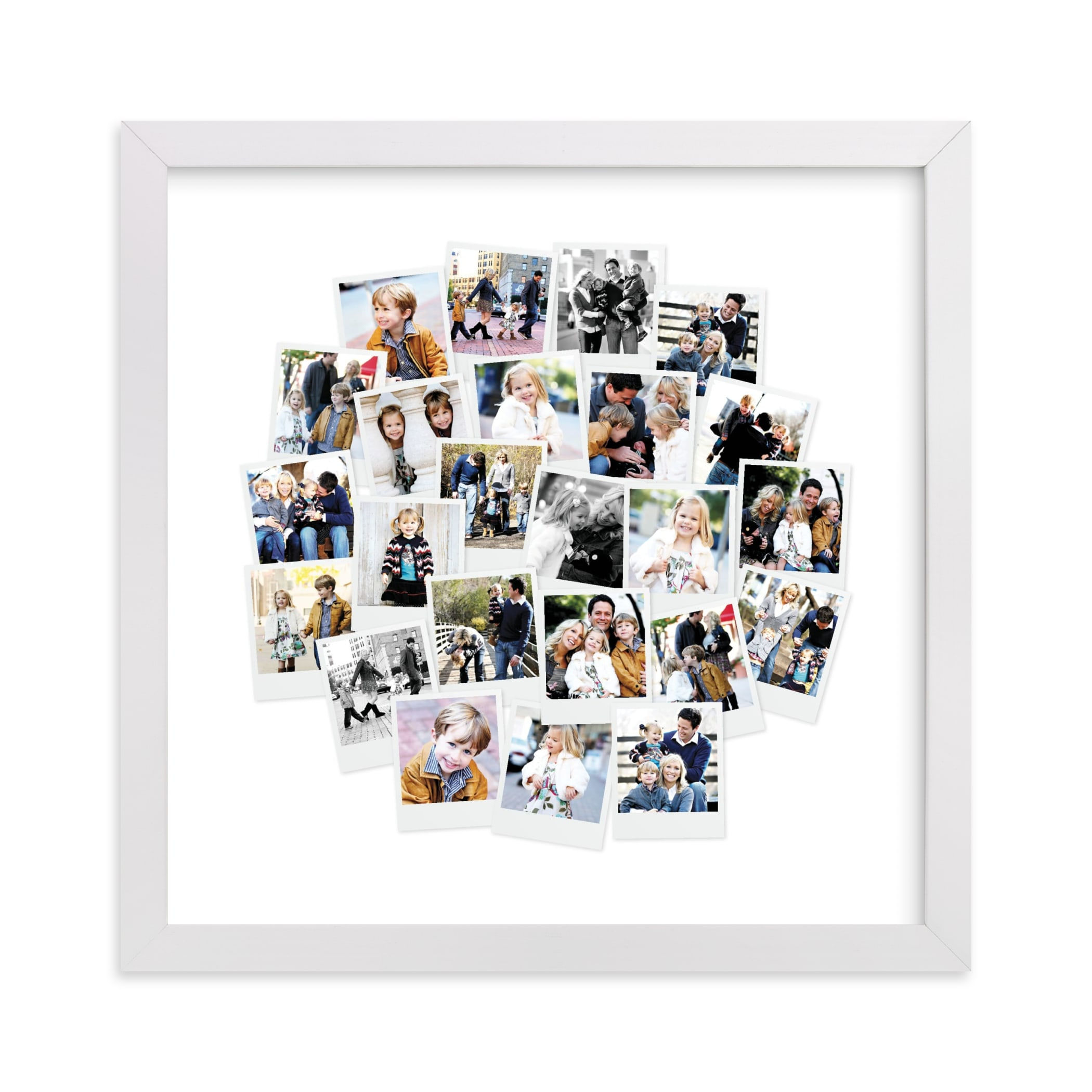"""""""Circle Snapshot Mix® Photo Art"""" - Custom Photo Art Print by Minted in beautiful frame options and a variety of sizes."""