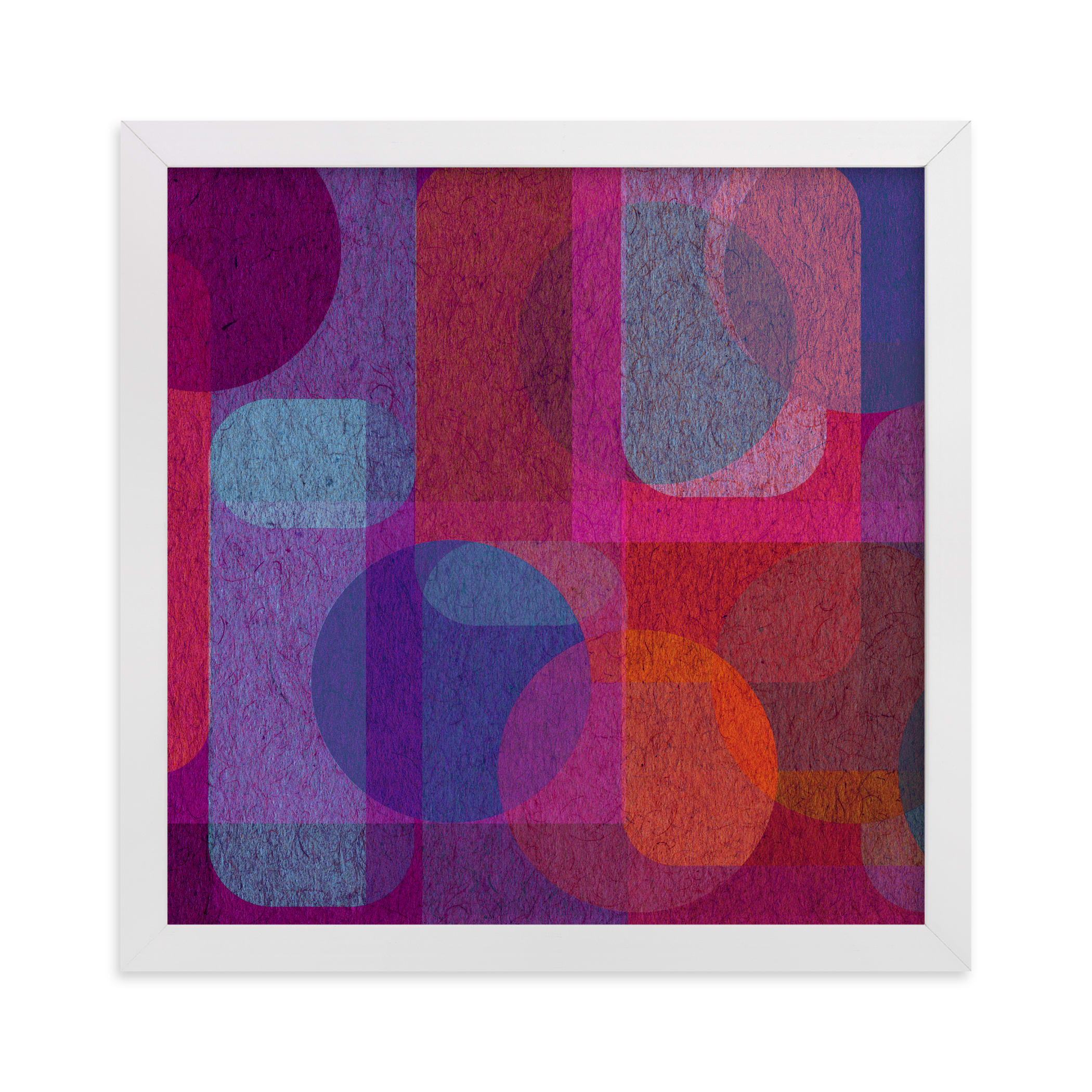 """""""Scandinavian Modern Revisit"""" - Limited Edition Art Print by Lisa Sundin in beautiful frame options and a variety of sizes."""