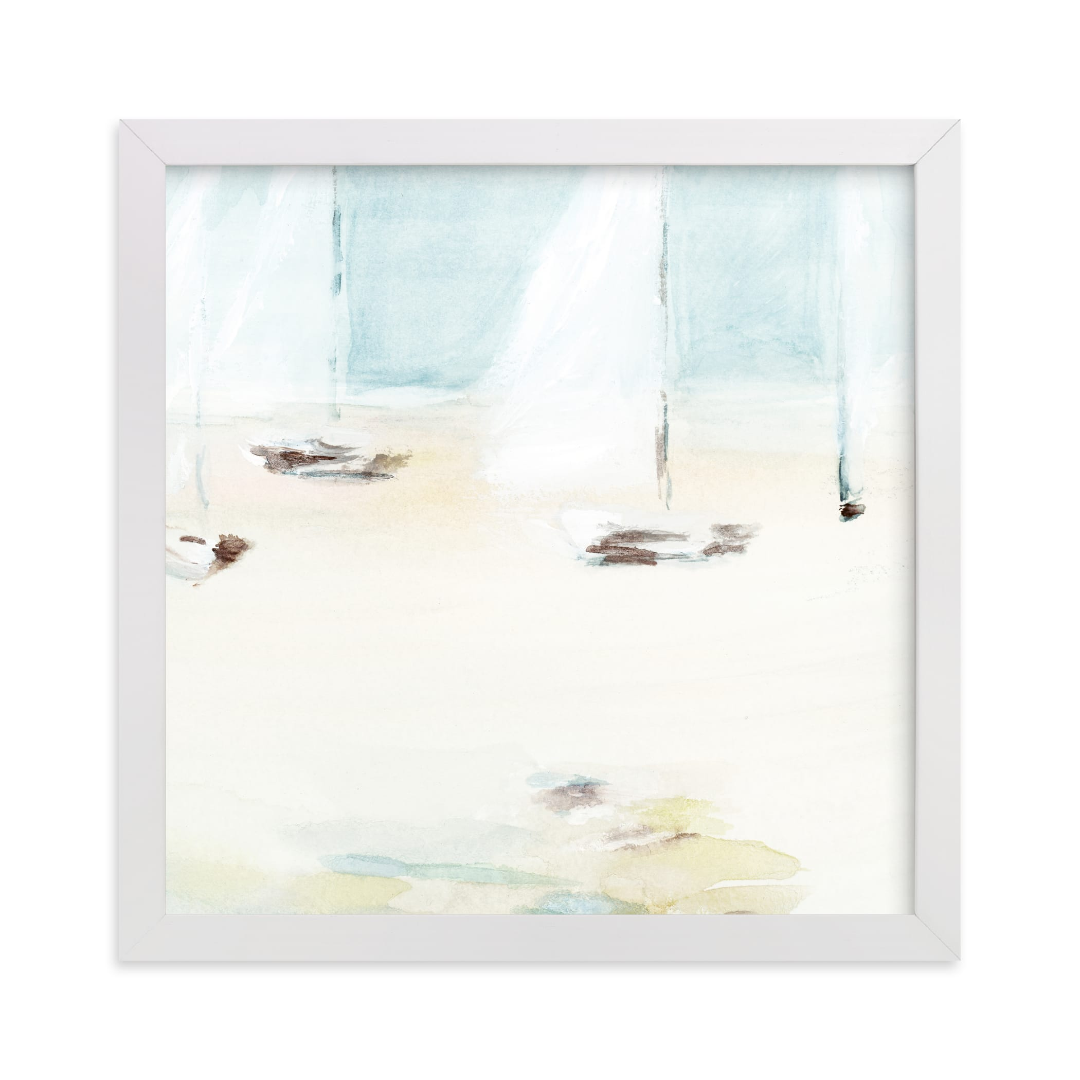 """""""Ahoy"""" - Limited Edition Art Print by Mande Calhoun in beautiful frame options and a variety of sizes."""